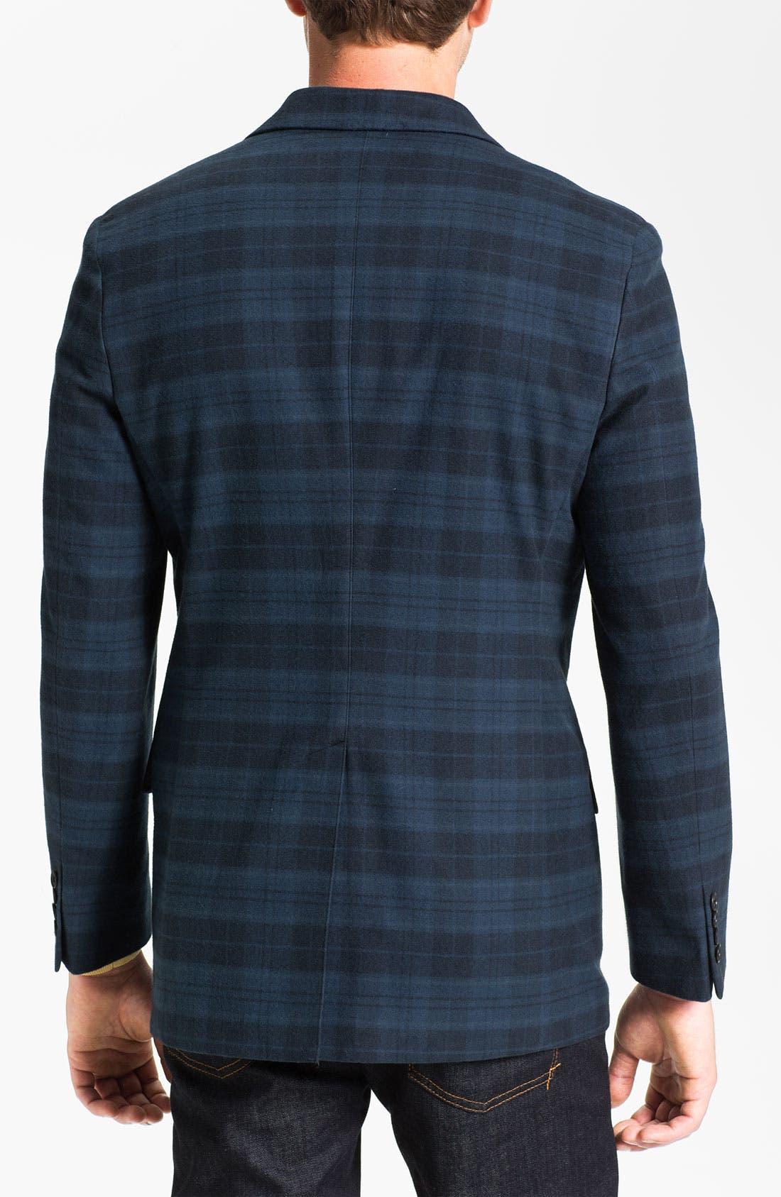 Alternate Image 2  - Joseph Abboud Plaid Cotton Sportcoat