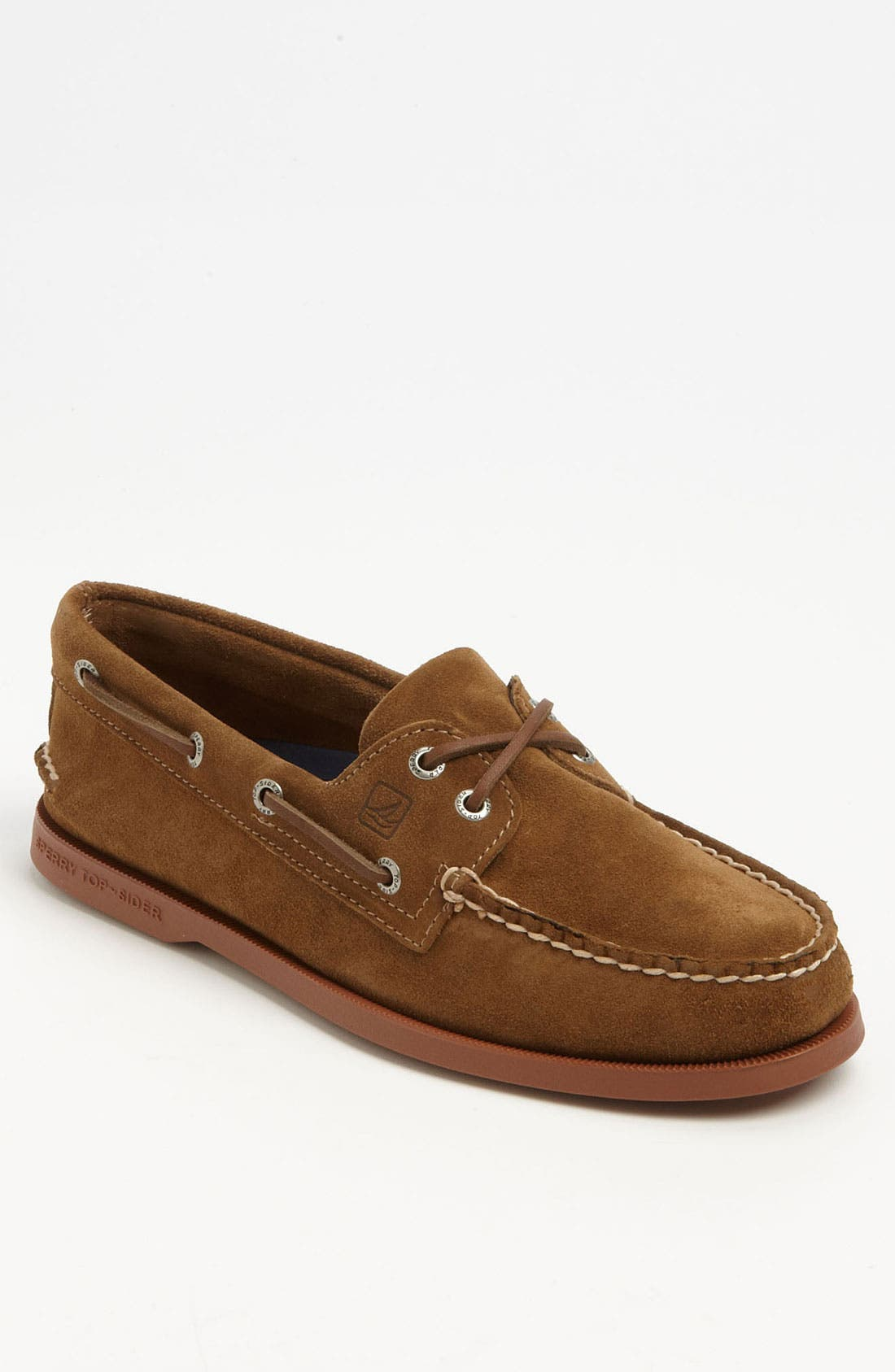 Main Image - Sperry Top-Sider® 'Authentic Original' Suede Boat Shoe