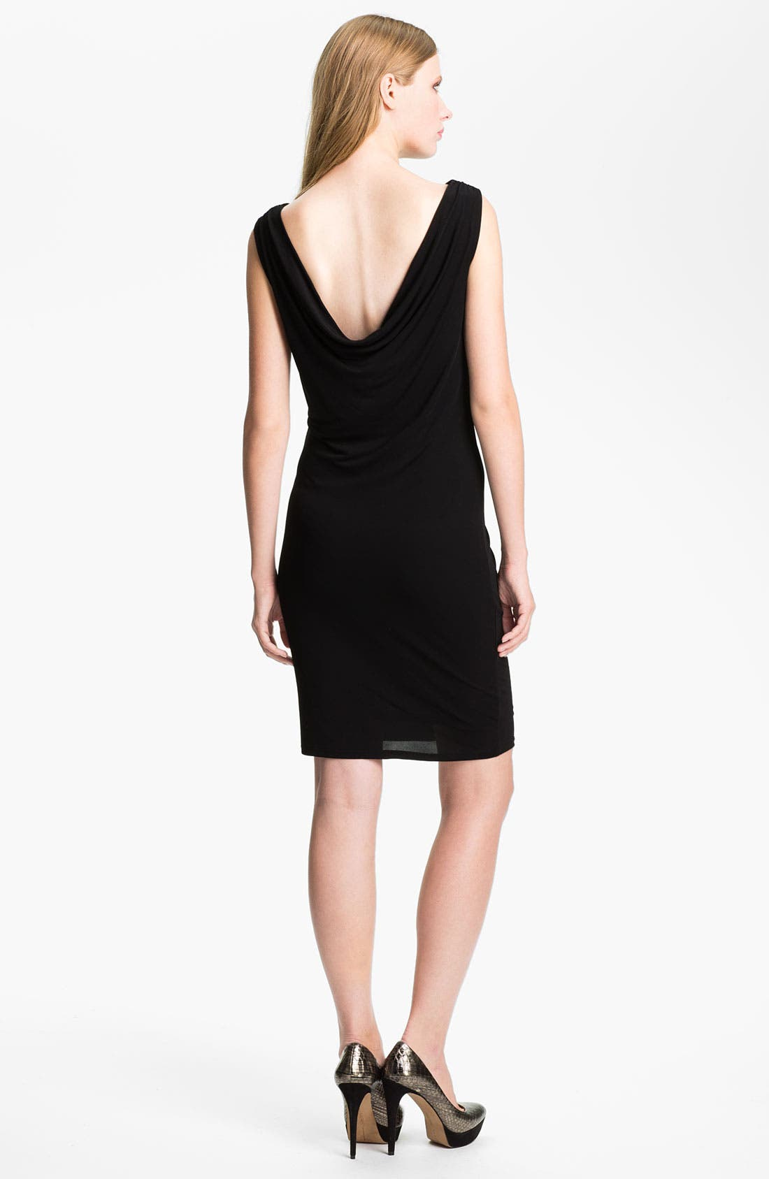 Alternate Image 2  - Felicity & Coco Cowl Back Jersey Sheath Dress (Nordstrom Exclusive)