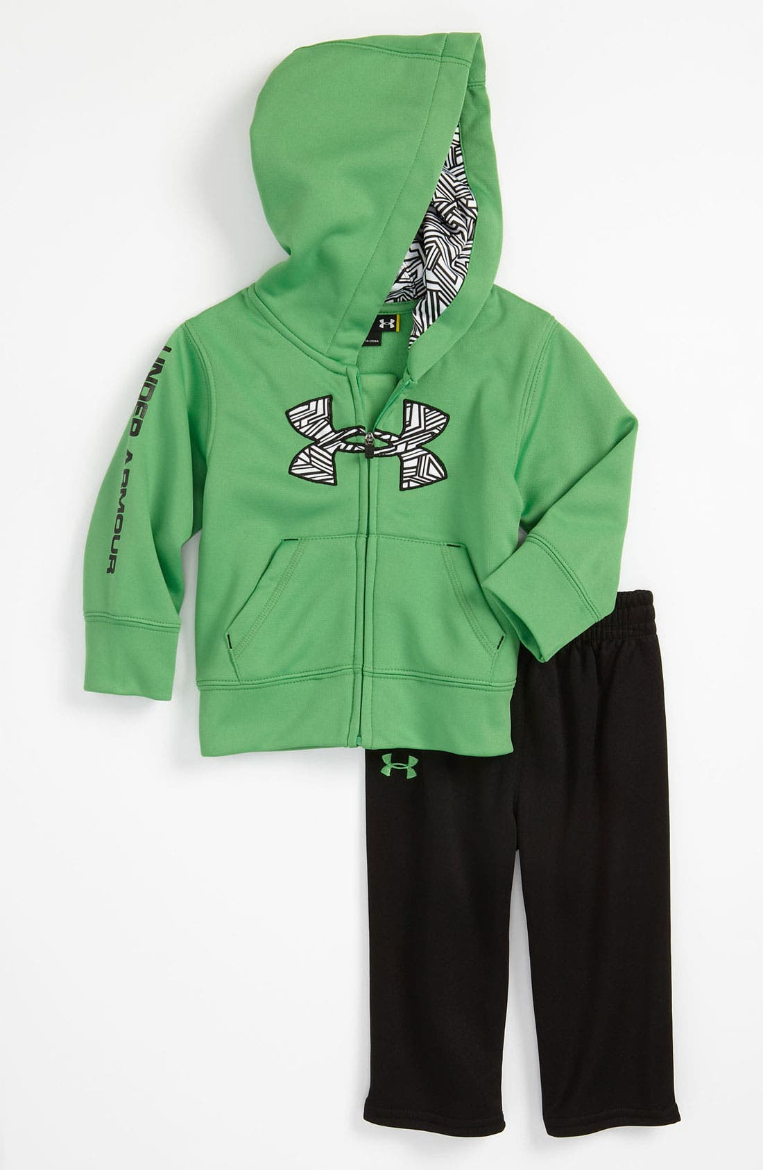 Alternate Image 1 Selected - Under Armour Hoodie & Pants (Infant)