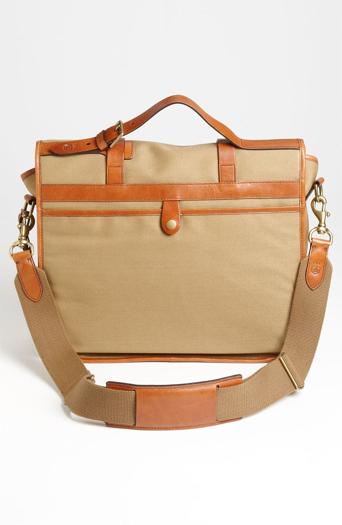 Alternate Image 2  - Polo Ralph Lauren Canvas Messenger Bag
