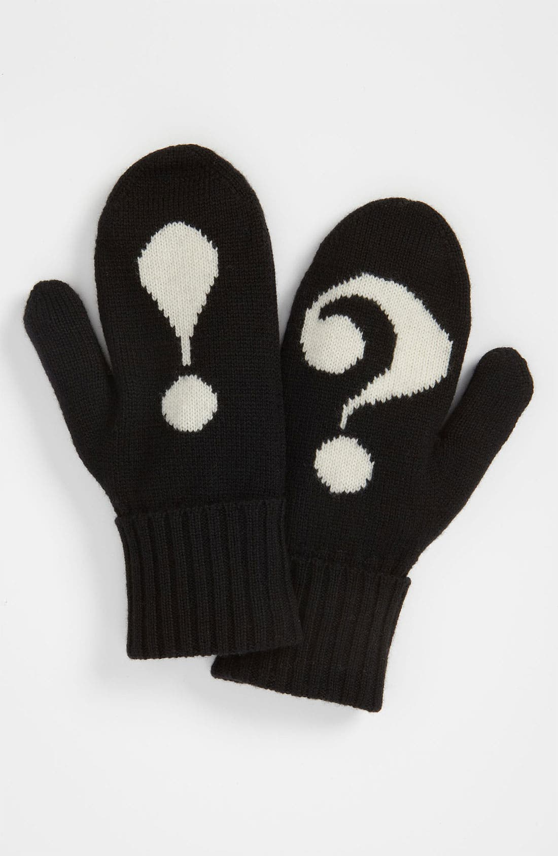 Alternate Image 3  - kate spade new york 'big apple - punctuation' mittens