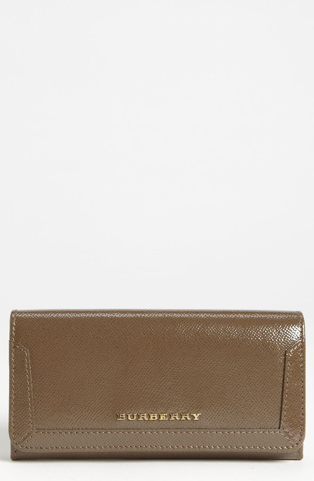 Main Image - Burberry Patent Leather Wallet