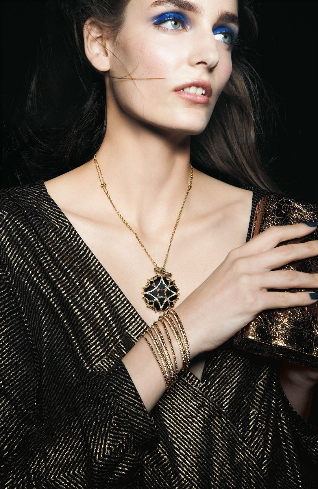 Alternate Image 3  - Judith Jack 'Matrix' Long Convertible Pendant Necklace