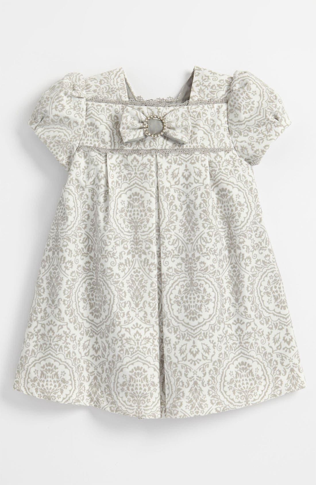 Main Image - Luli & Me Floral Dress (Toddler)