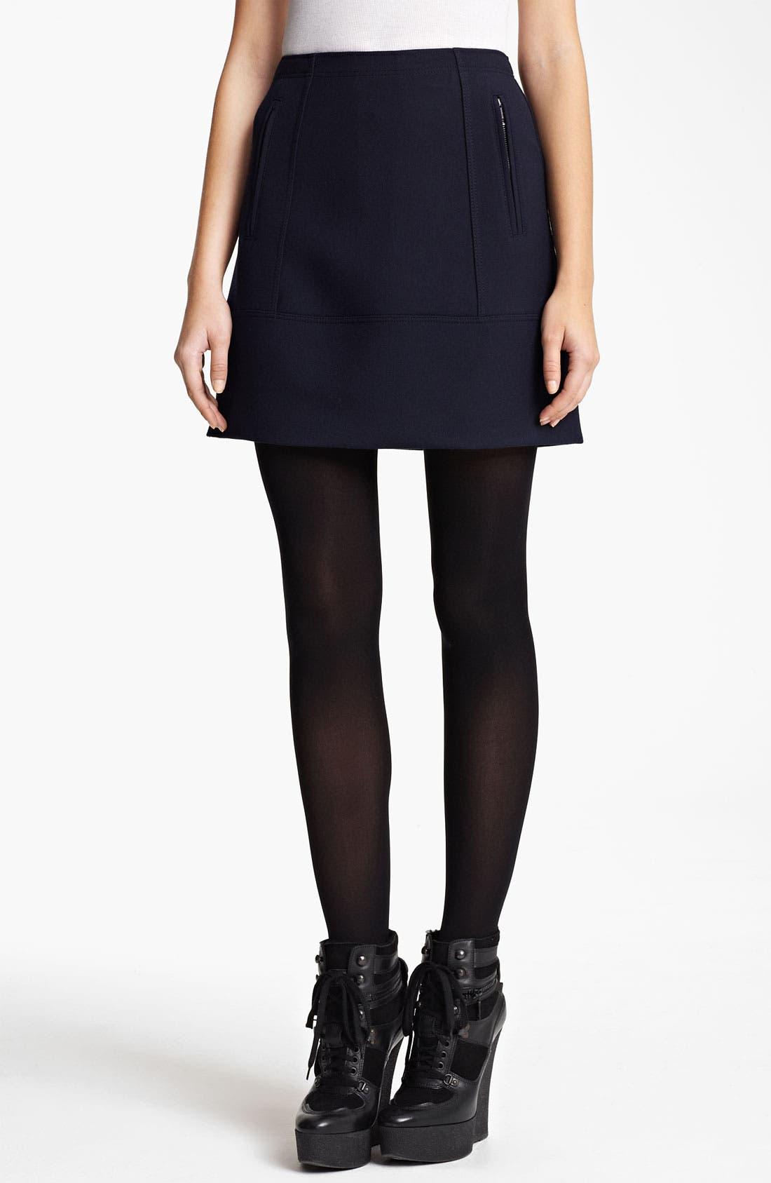 Alternate Image 1 Selected - Burberry Brit Seamed Skirt