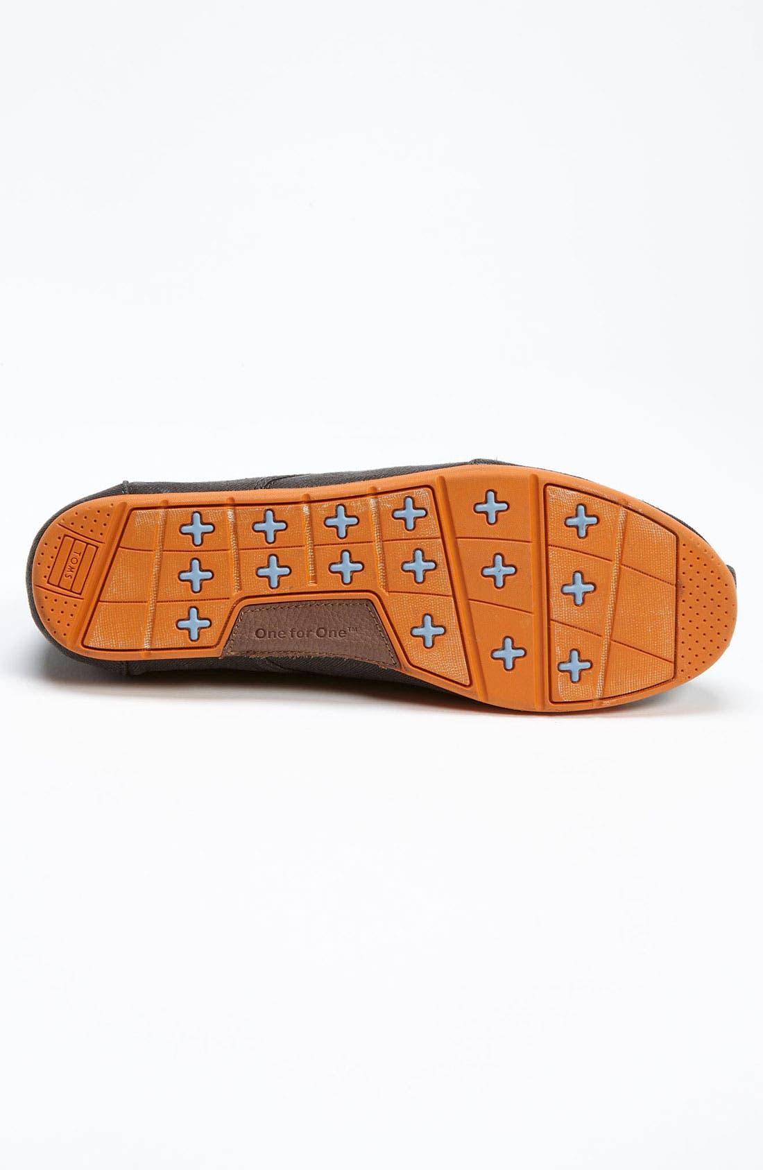 Alternate Image 4  - TOMS 'Cordones' Twill Sneaker (Men) (Nordstrom Exclusive)