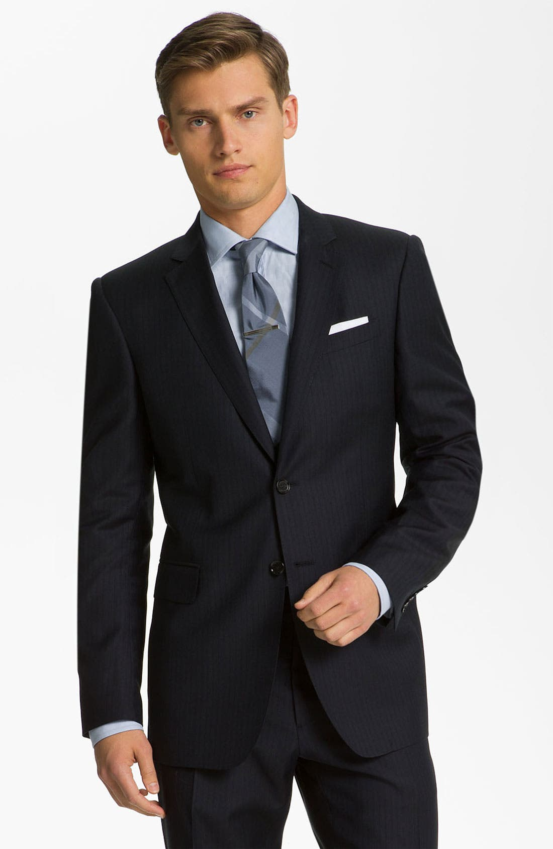 Main Image - Burberry London Extra Trim Fit Suit