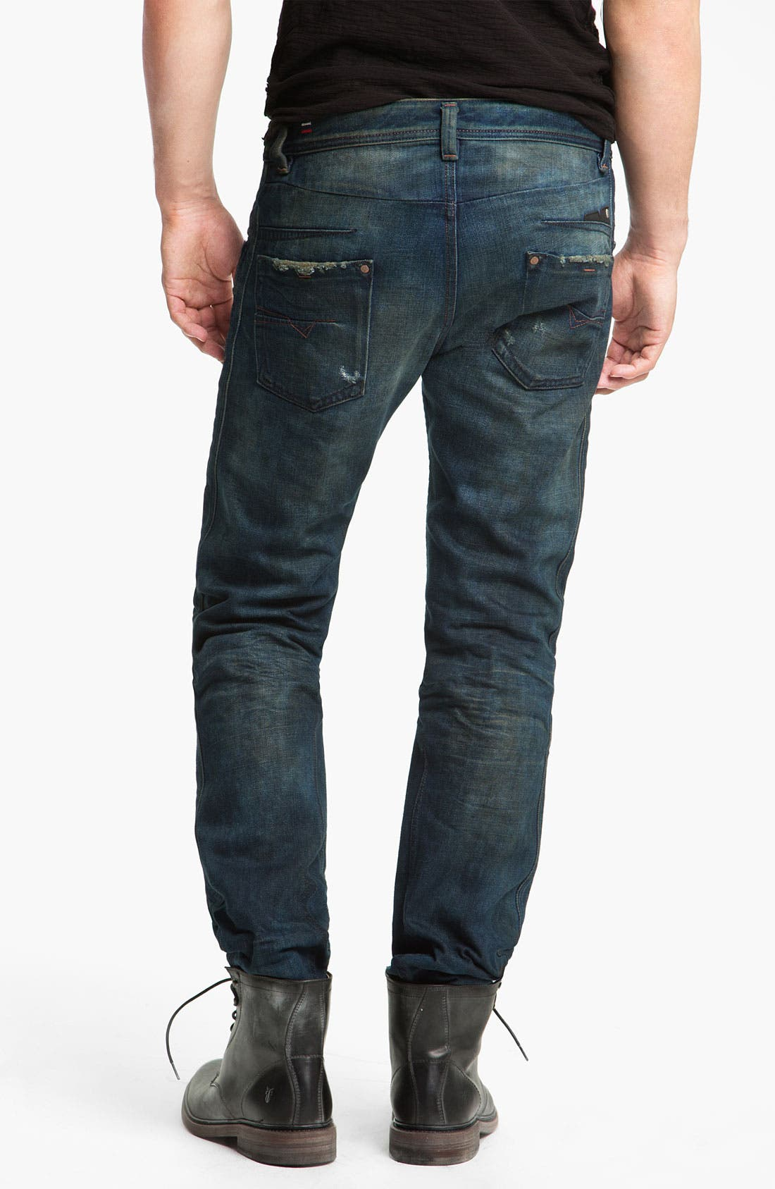 Alternate Image 1 Selected - DIESEL® 'Darron' Slim Tapered Leg Jeans (0075L)