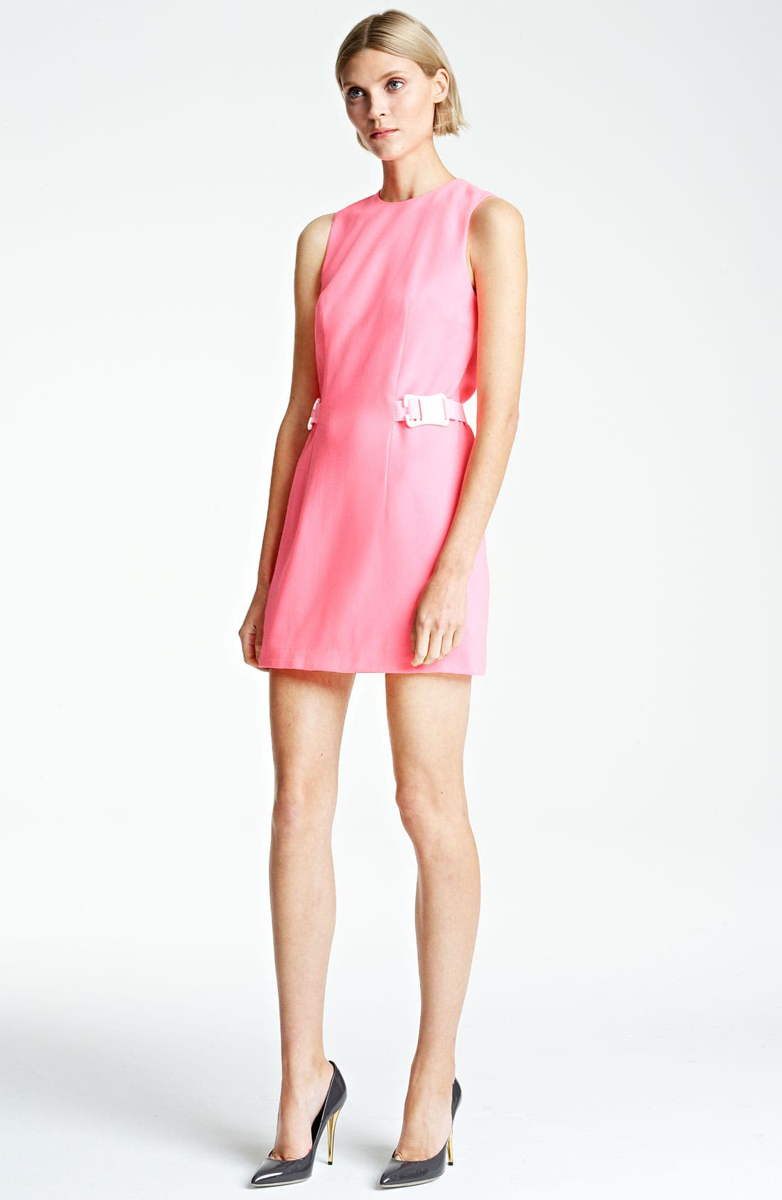 Alternate Image 1 Selected - Christopher Kane Safety Belt Minidress