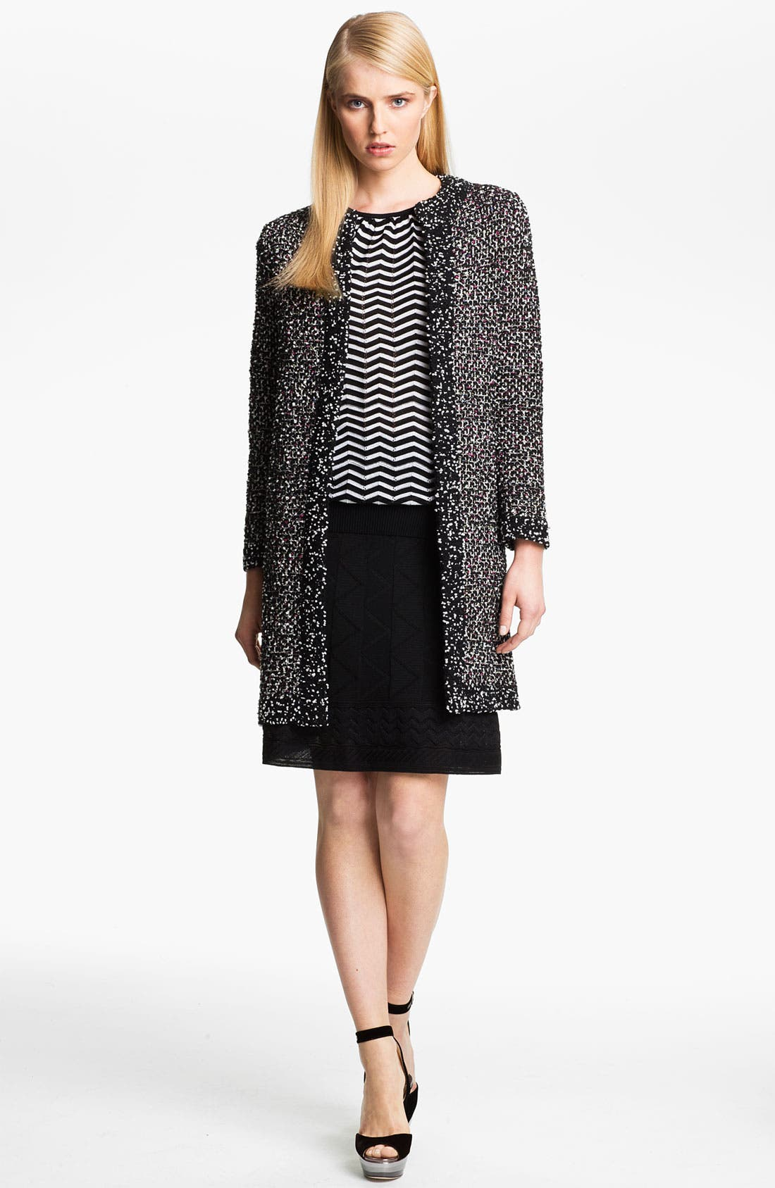 Main Image - M Missoni Bouclé Knit Coat