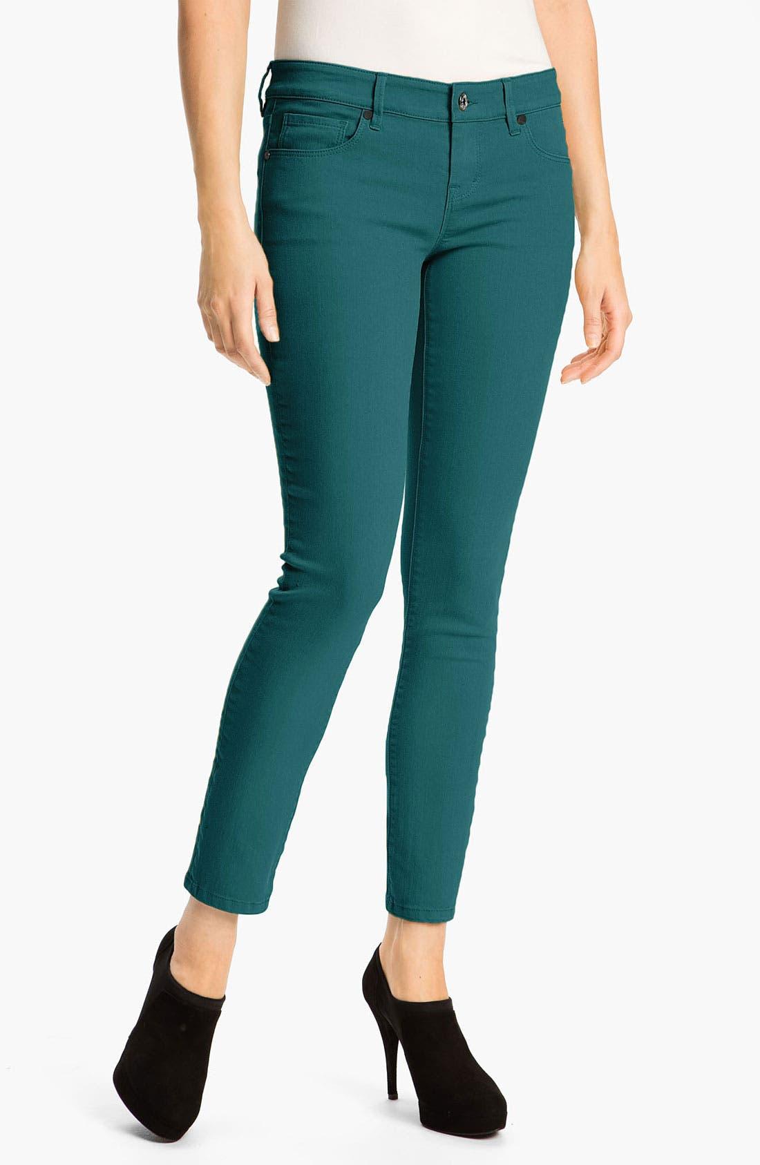 Alternate Image 1 Selected - Isaac Mizrahi Jeans 'Samantha' Colored Skinny Jeans