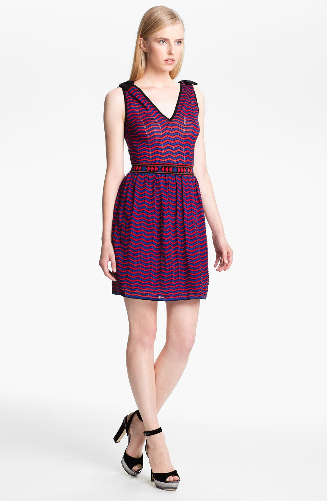 Alternate Image 1 Selected - M Missoni Bold Zigzag Tank Dress