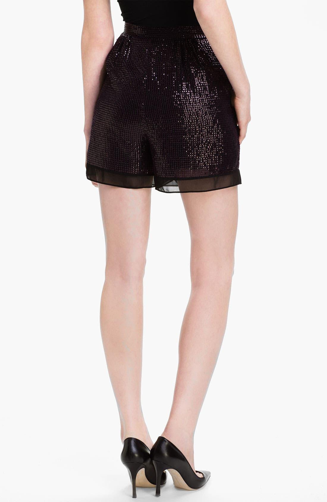 Alternate Image 2  - Diane von Furstenberg 'Sandra Cuvet' Sequin Shorts