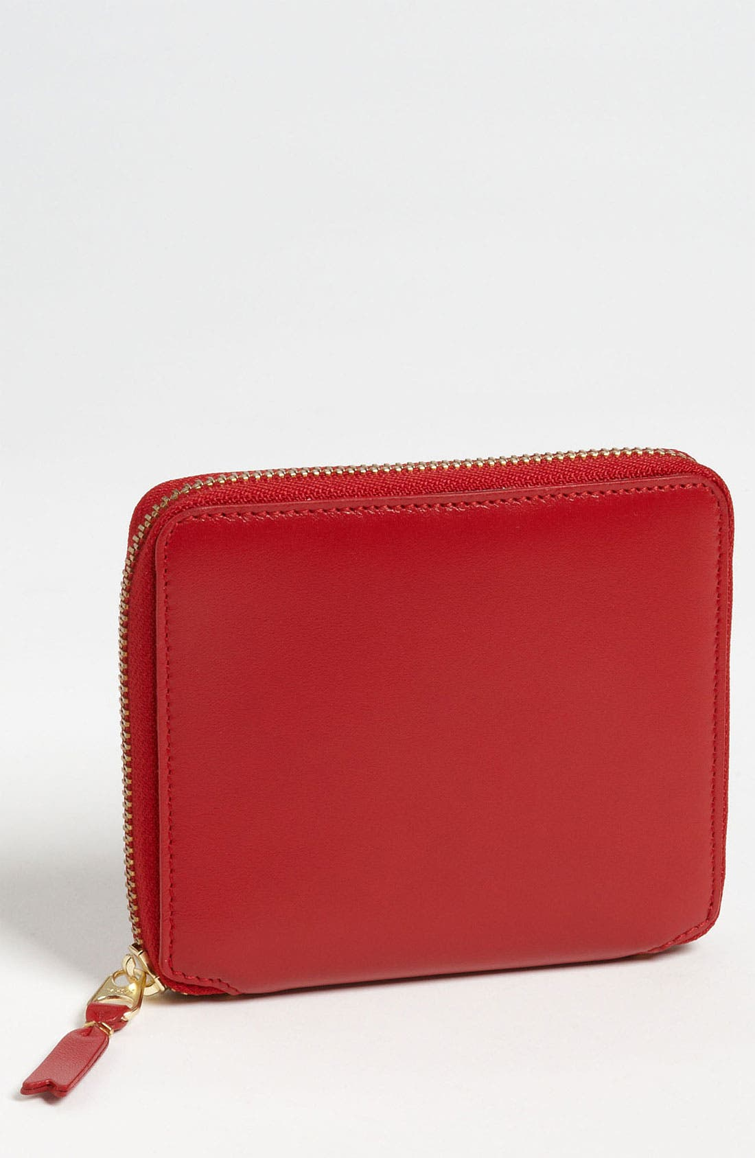 'Classic' French Wallet,                         Main,                         color, Red