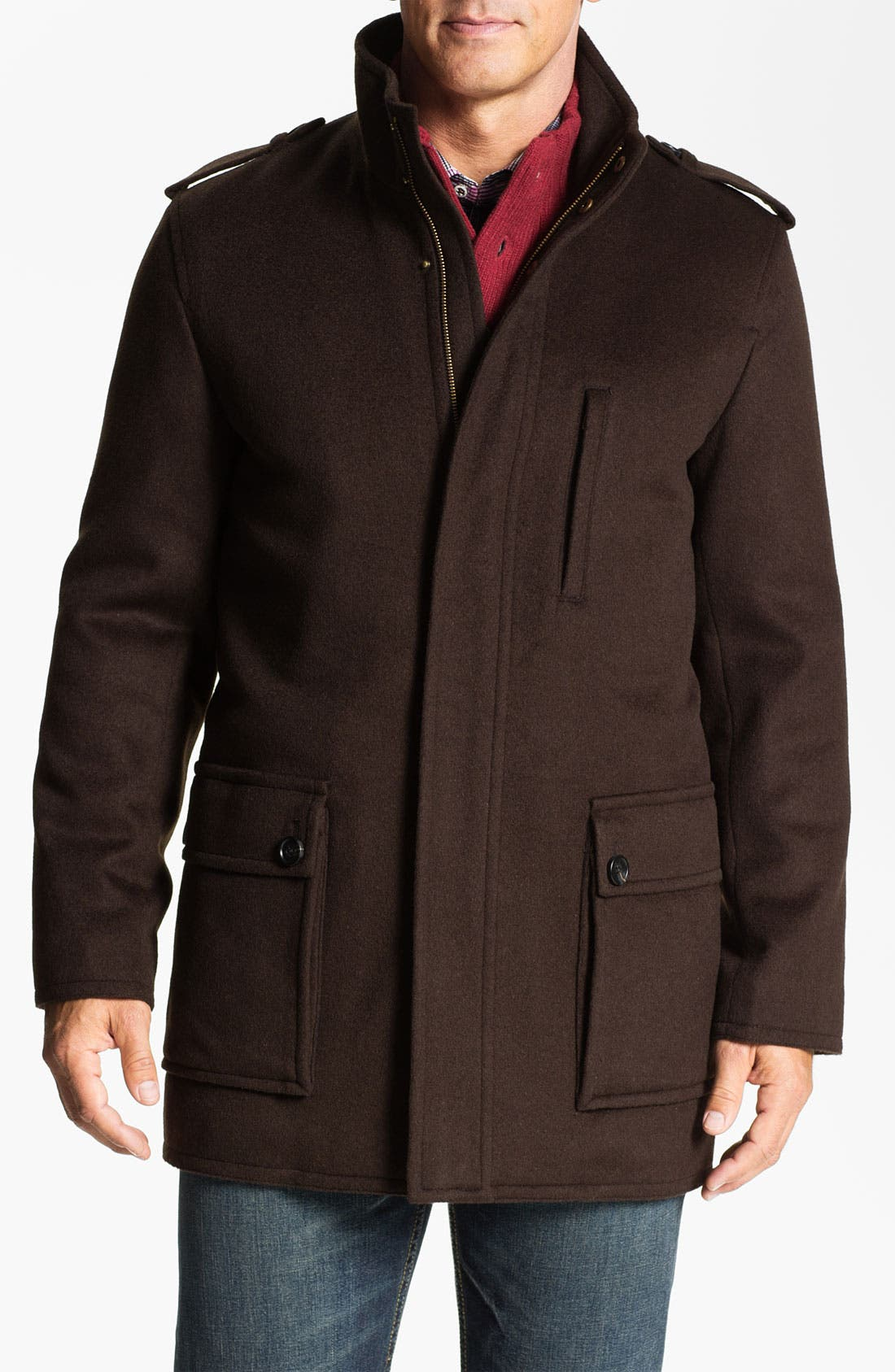 Main Image - Hart Schaffner Marx Wool & Cashmere Jacket