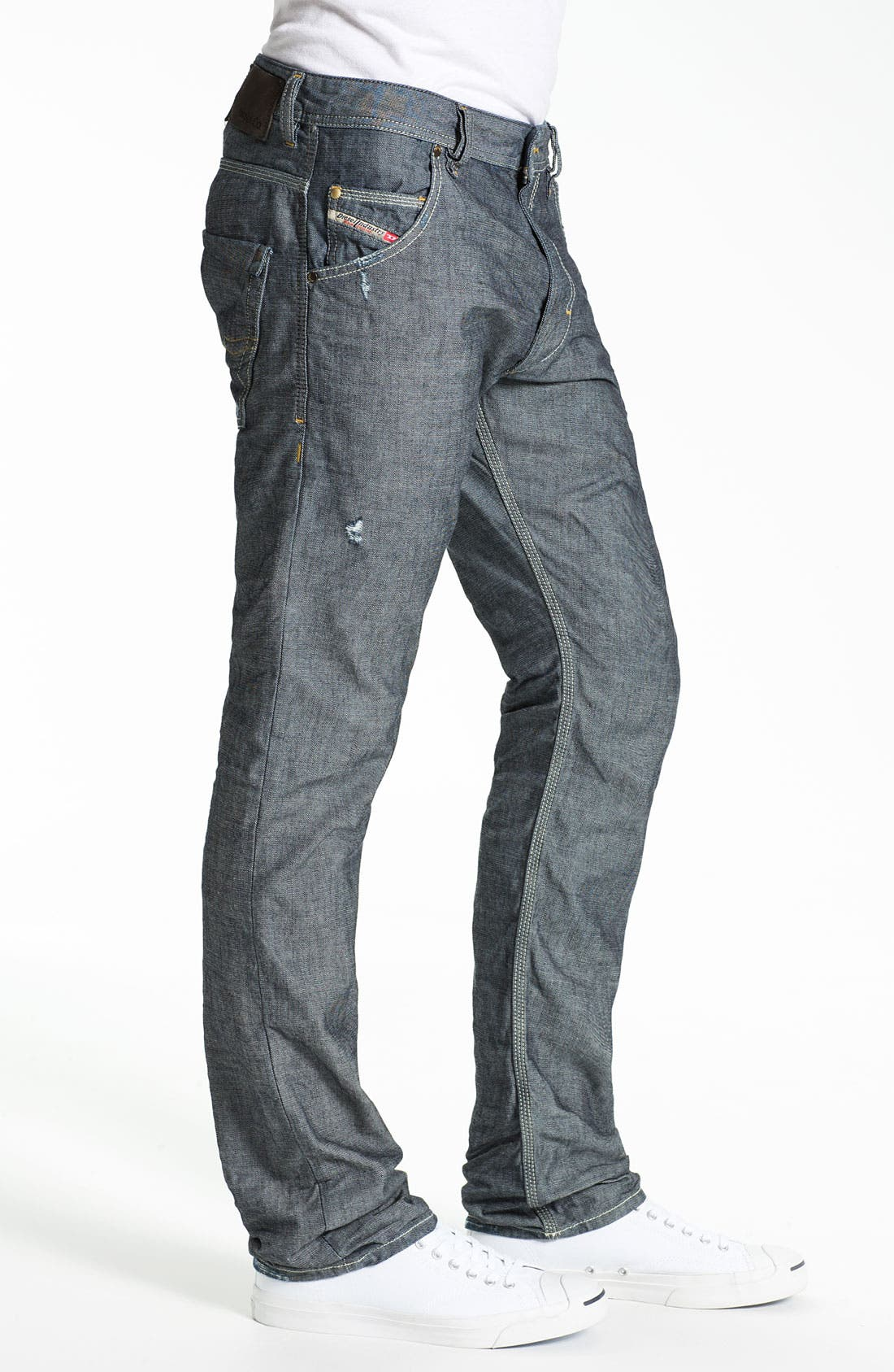 Alternate Image 3  - DIESEL® 'Safado' Straight Leg Jeans (0809D)