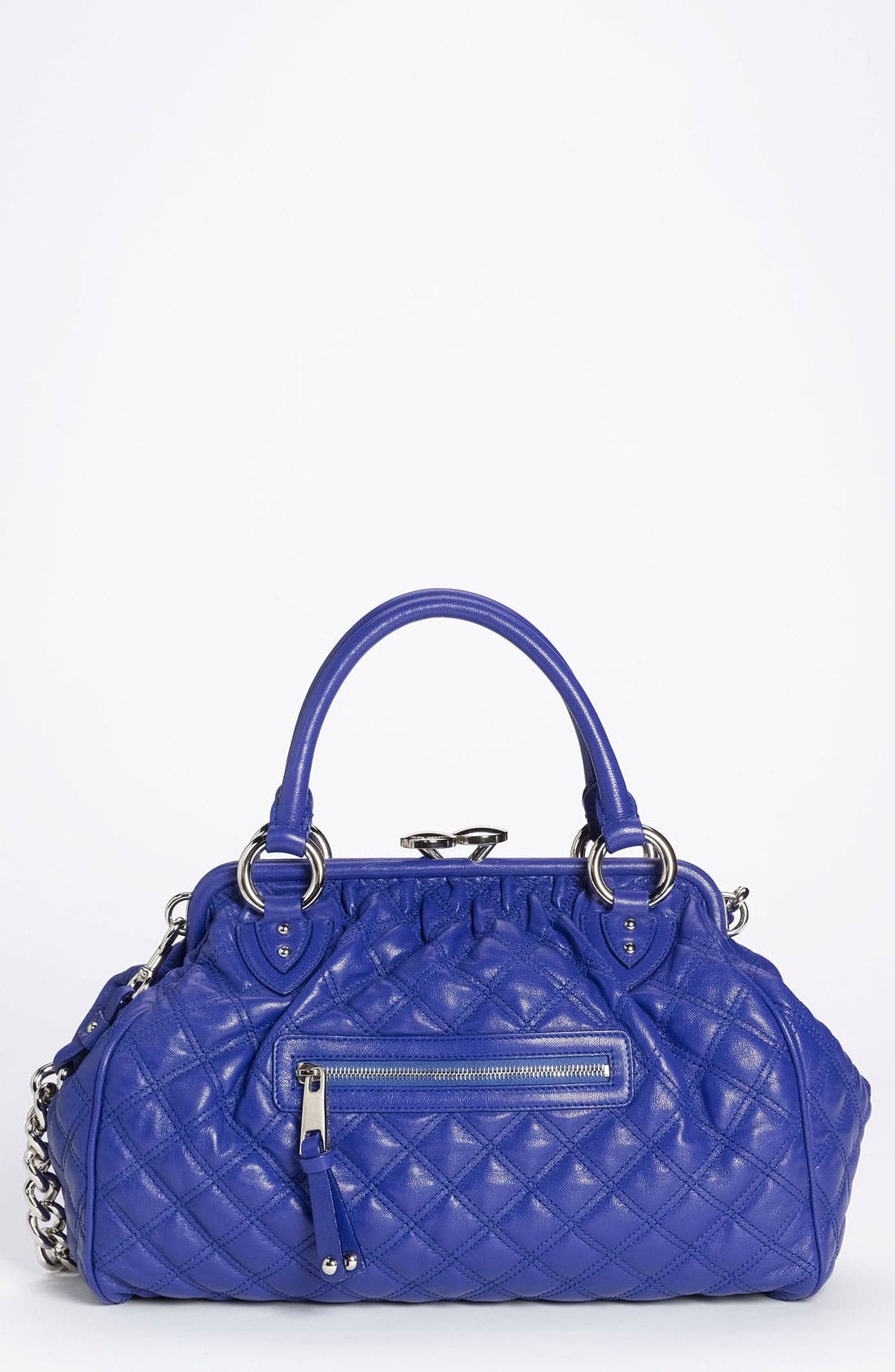 Alternate Image 1 Selected - MARC JACOBS 'Quilting Stam' Leather Satchel