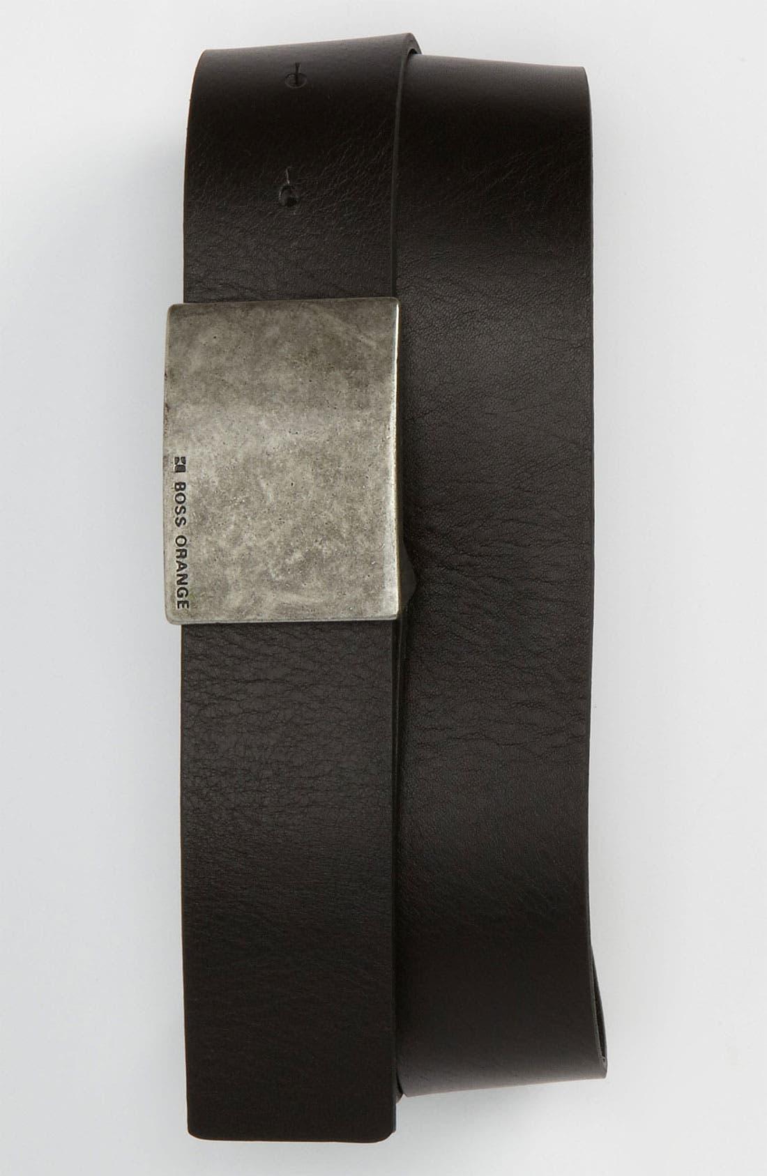 Alternate Image 1 Selected - BOSS Orange 'Jarrett' Belt
