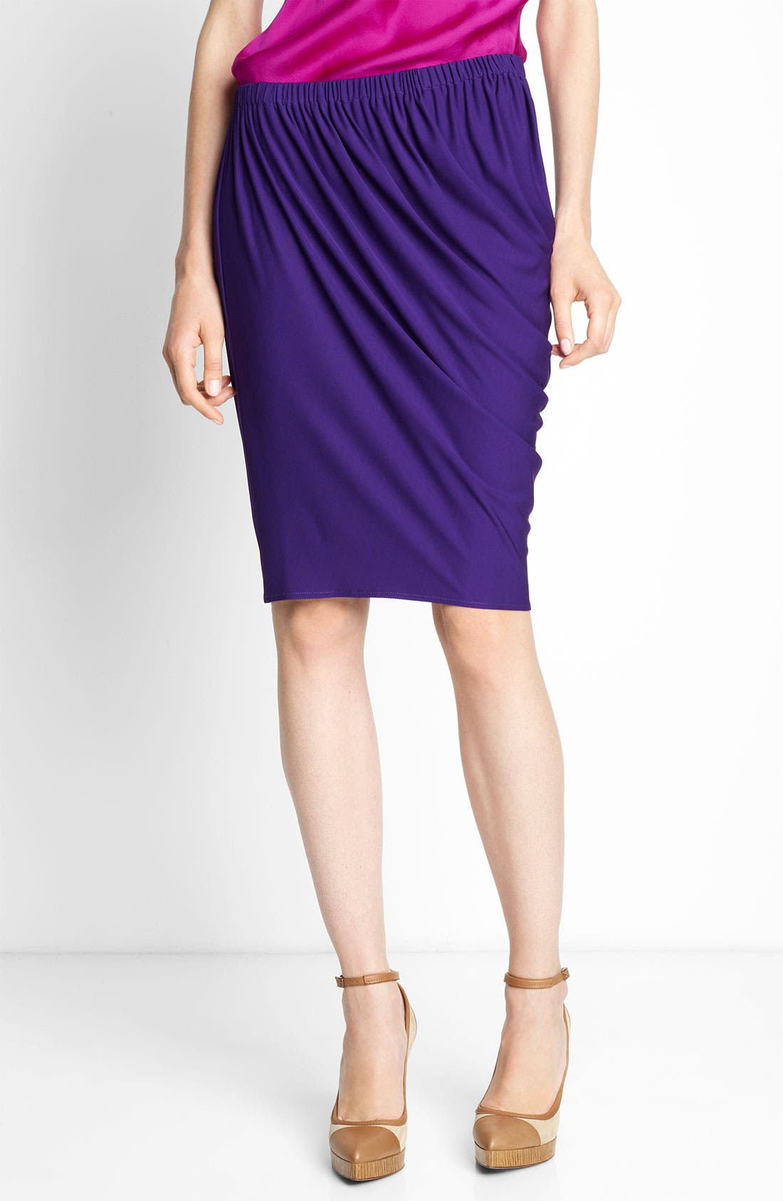 Alternate Image 1 Selected - Lanvin Draped Jersey Skirt