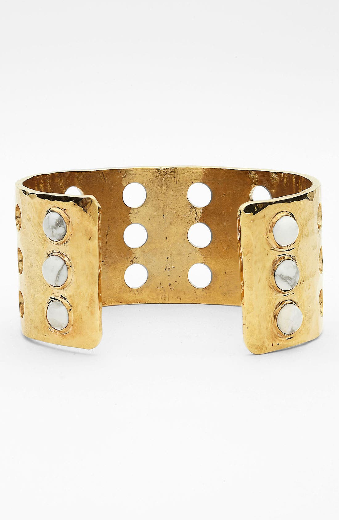 Alternate Image 2  - Kelly Wearstler Cabochon Perforated Cuff