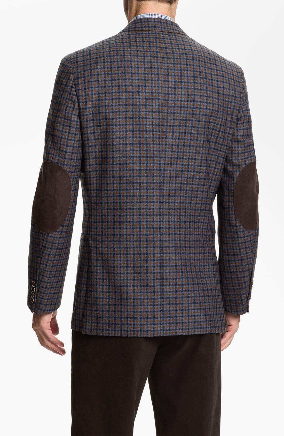 Alternate Image 2  - Peter Millar Wool & Cashmere Sportcoat