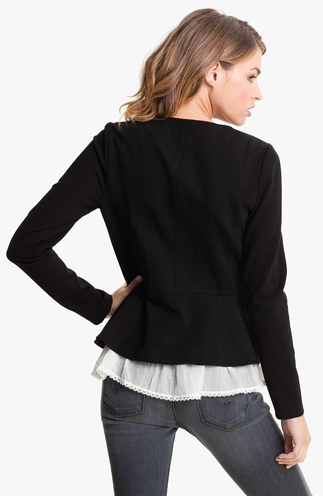 Alternate Image 2  - Hinge® Peplum Jacket