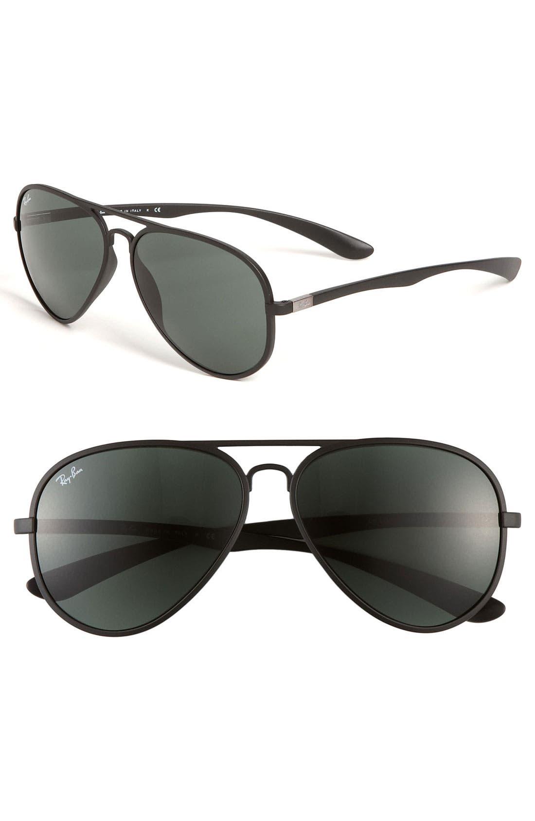 Alternate Image 1 Selected - Ray-Ban 'M Mod Caravan' 58mm Aviator Sunglasses
