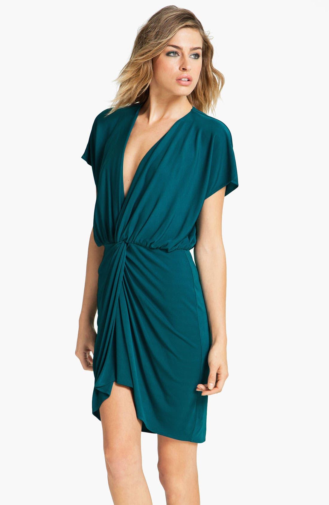 Alternate Image 1 Selected - Haute Hippie Twist Front Dress
