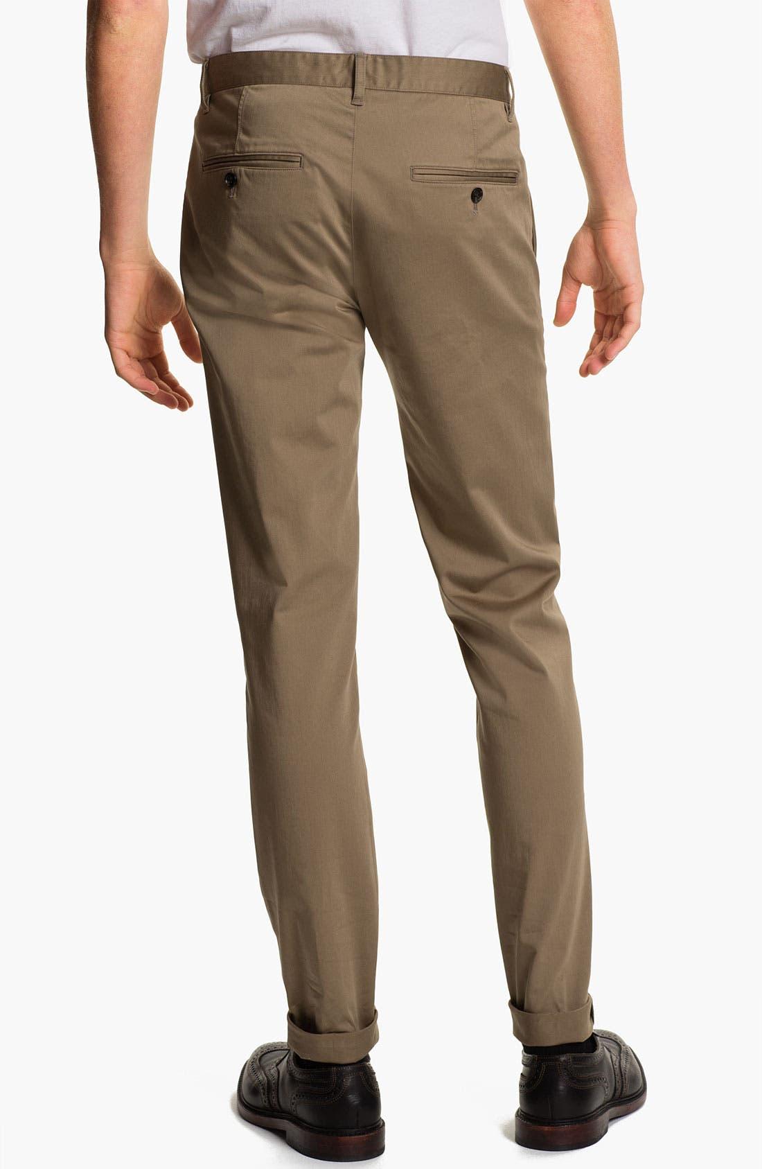 Alternate Image 2  - Theory 'Zaine Clifton' Slim Straight Leg Pants