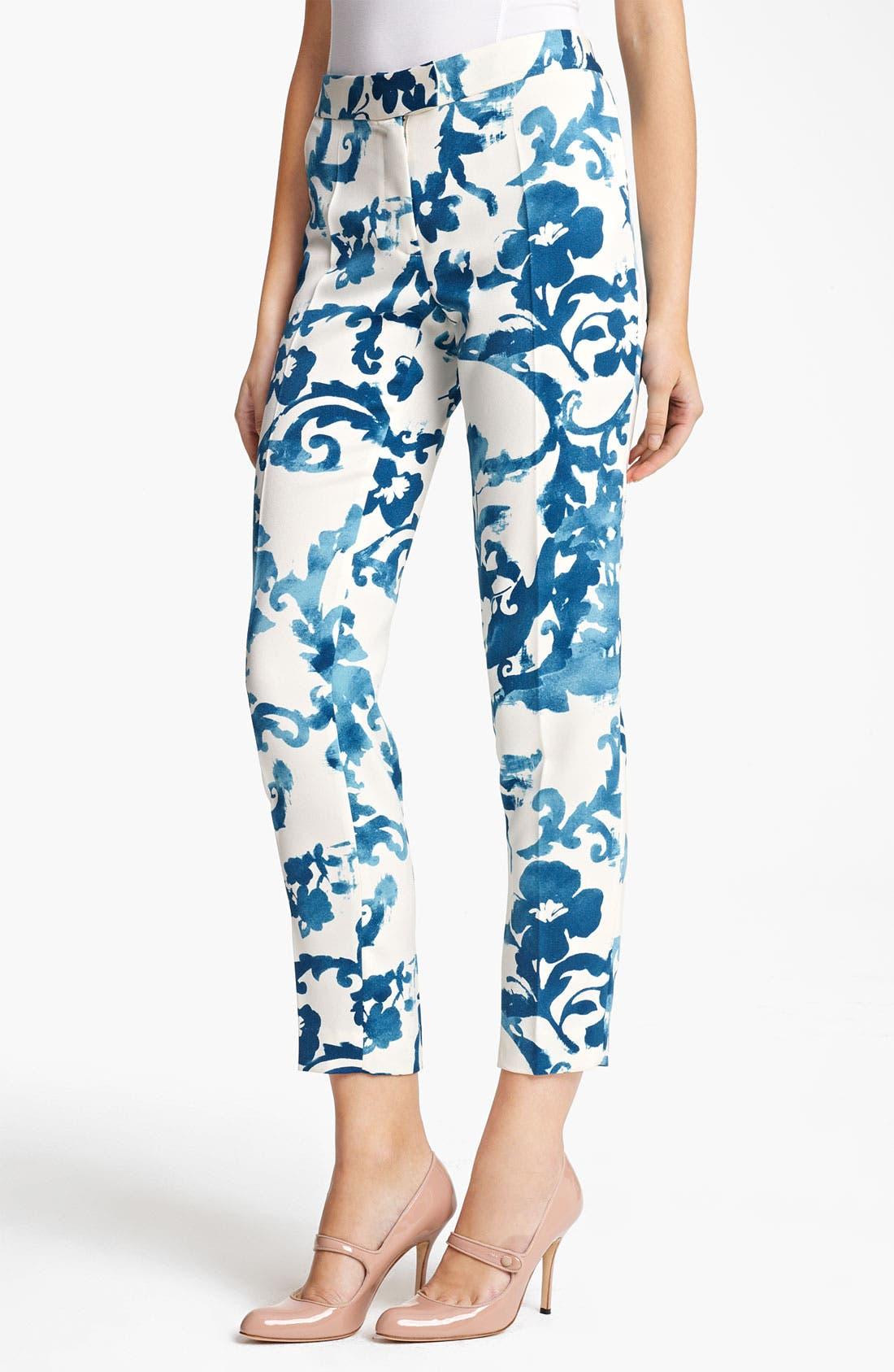 Main Image - Moschino Cheap & Chic English Pottery Print Pants