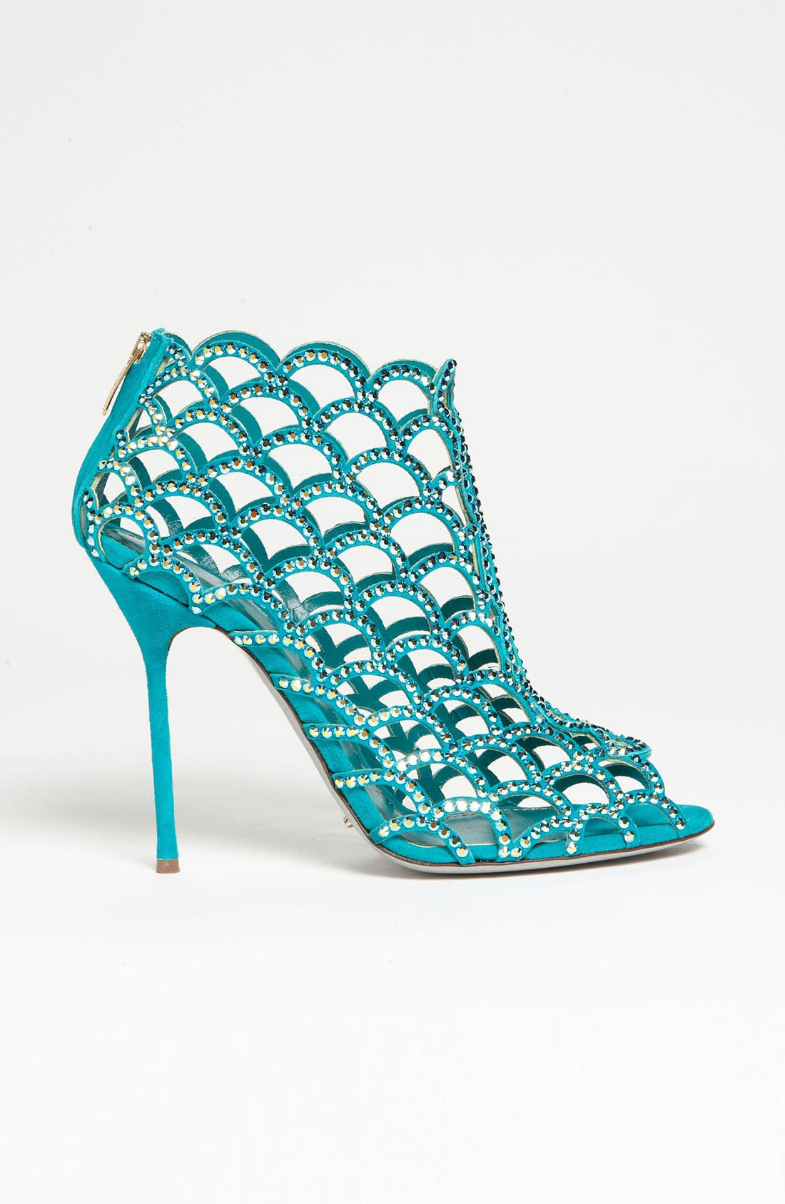 Alternate Image 4  - Sergio Rossi 'Mermaid' Caged Sandal