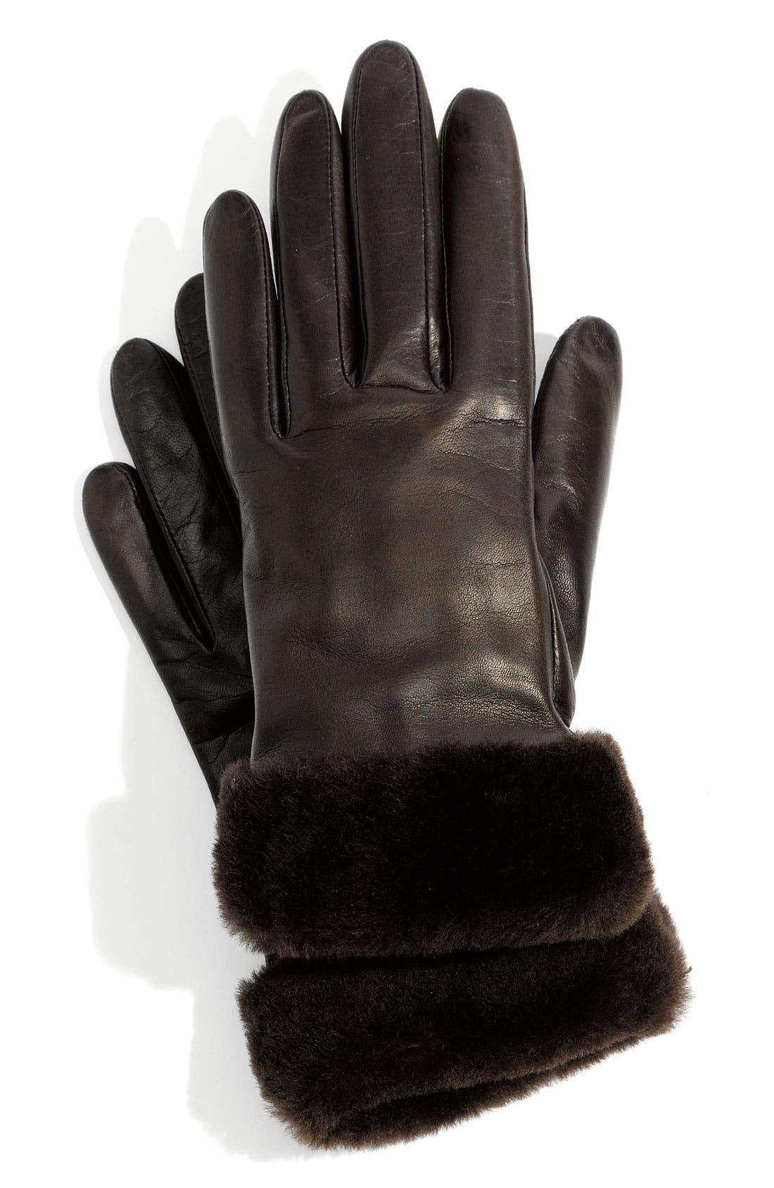 Alternate Image 1 Selected - UGG® Australia 'Fashion Shorty' Tech Glove