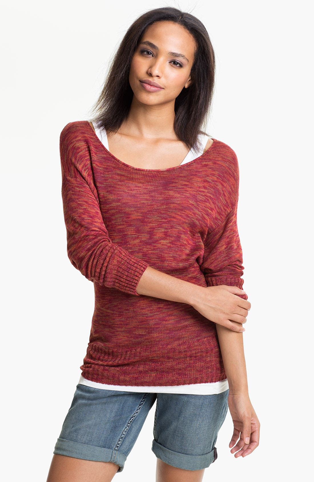 Alternate Image 1 Selected - Lucky Brand 'Sparrow' Sweater (Online Exclusive)