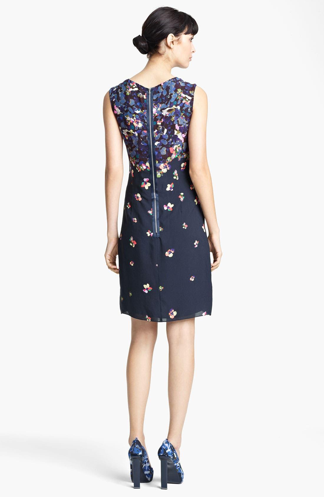 Alternate Image 2  - Erdem Print Sleeveless Shift Dress