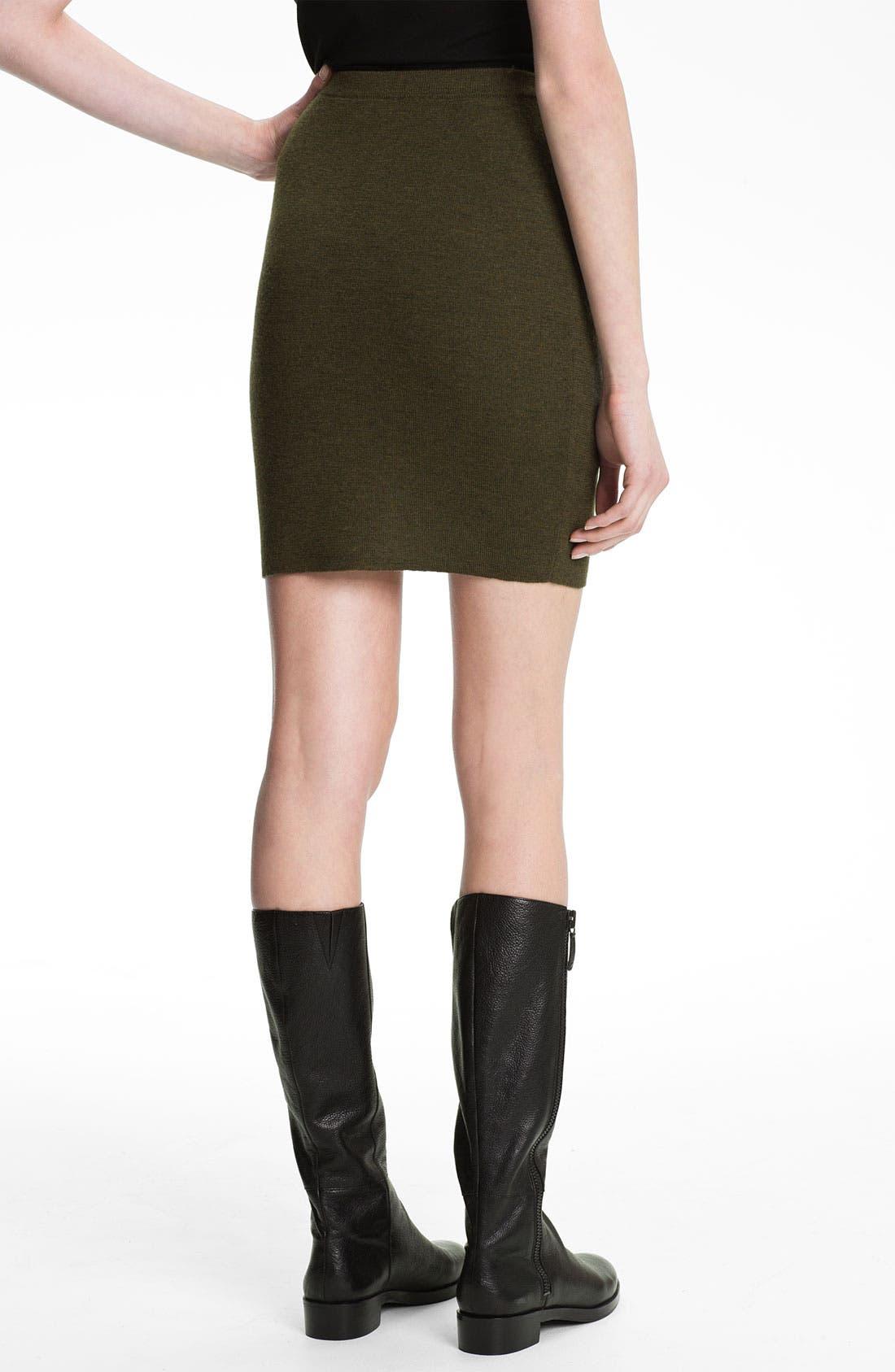 Alternate Image 2  - Eileen Fisher Merino Wool Skirt