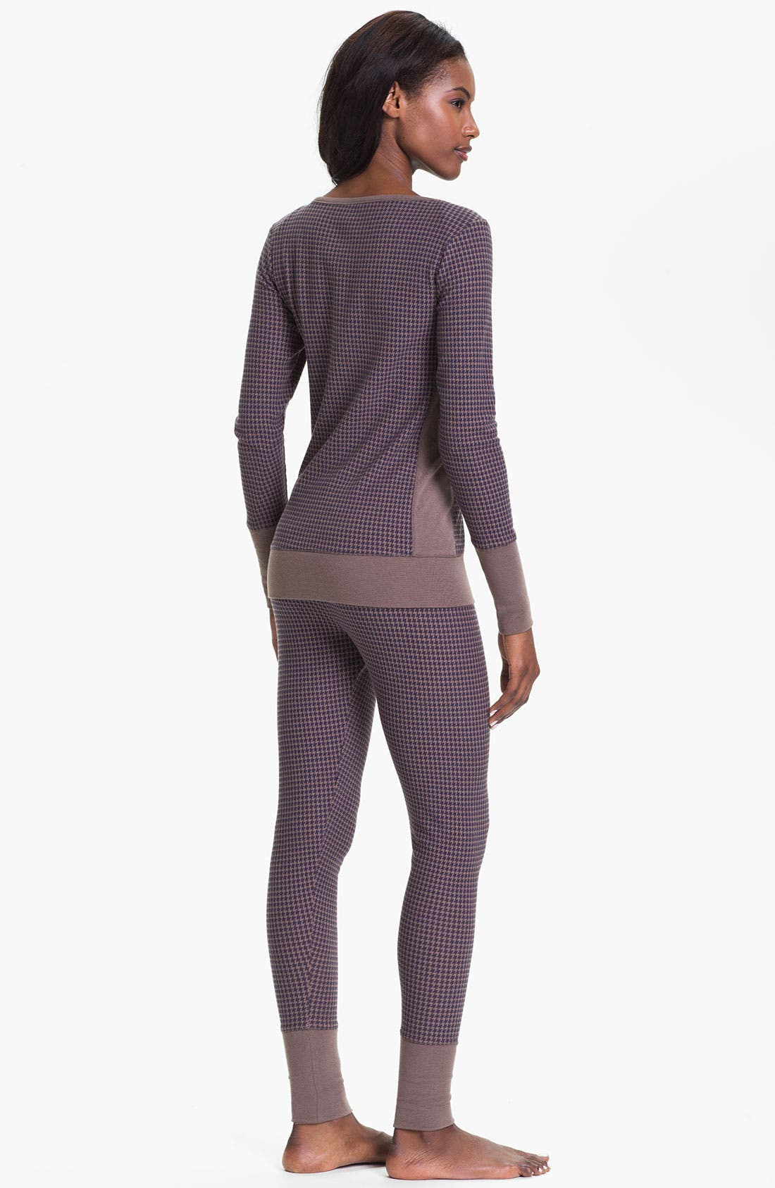 Alternate Image 4  - DKNY Banded Base Layer Top