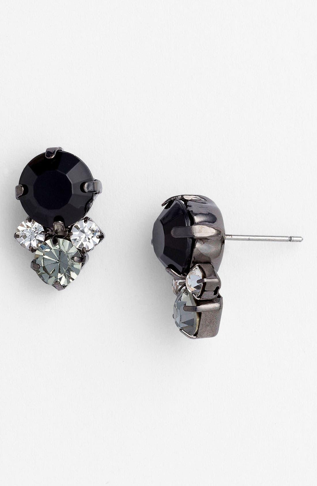 Alternate Image 1 Selected - Carole Multi Stone Stud Earrings