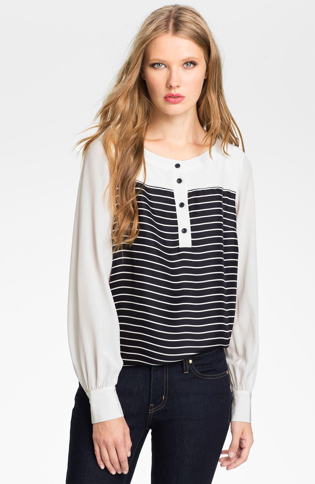 Alternate Image 1 Selected - kate spade new york 'leanne' silk blouse