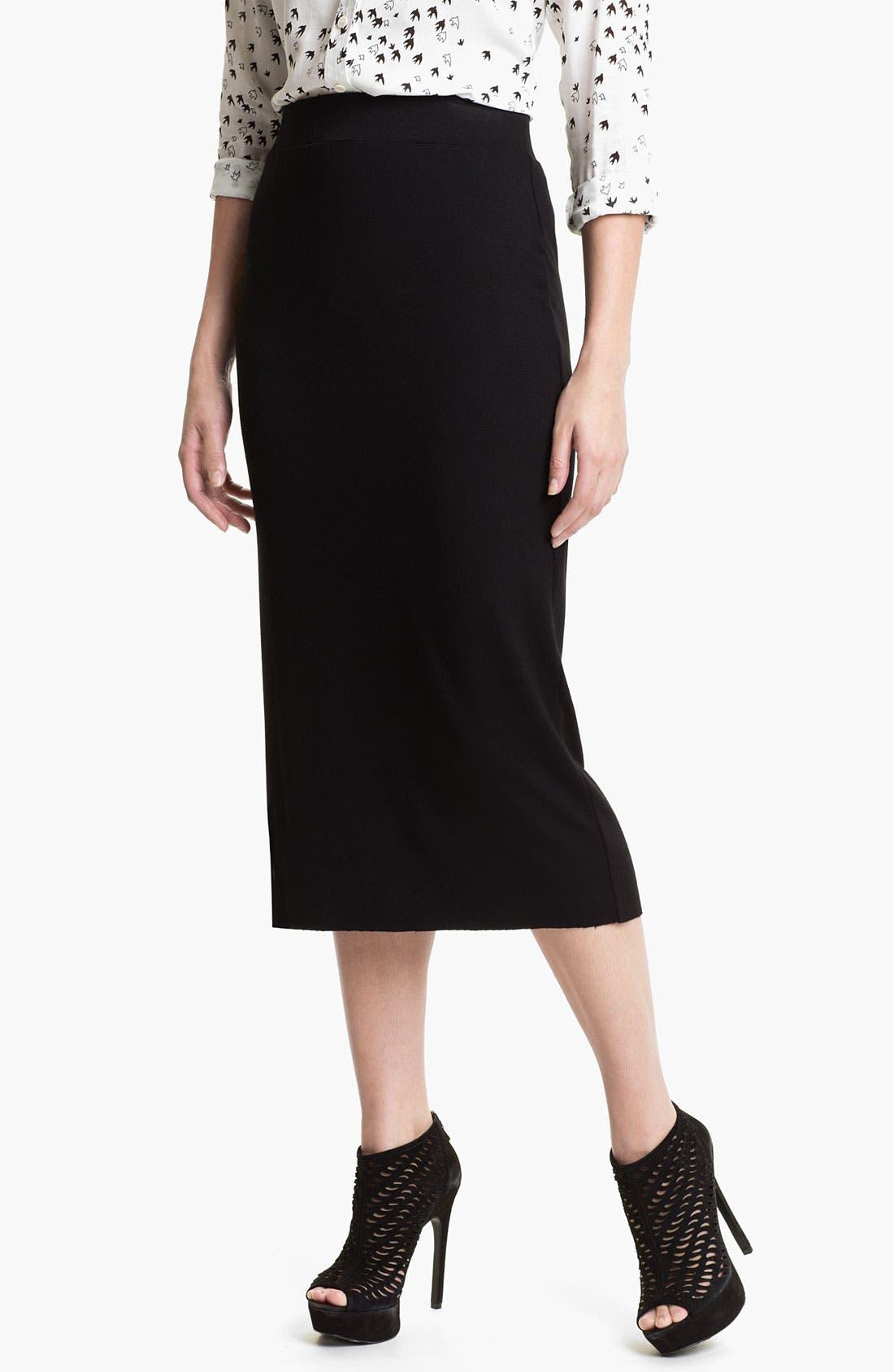 Alternate Image 1 Selected - Kensie Midi Skirt