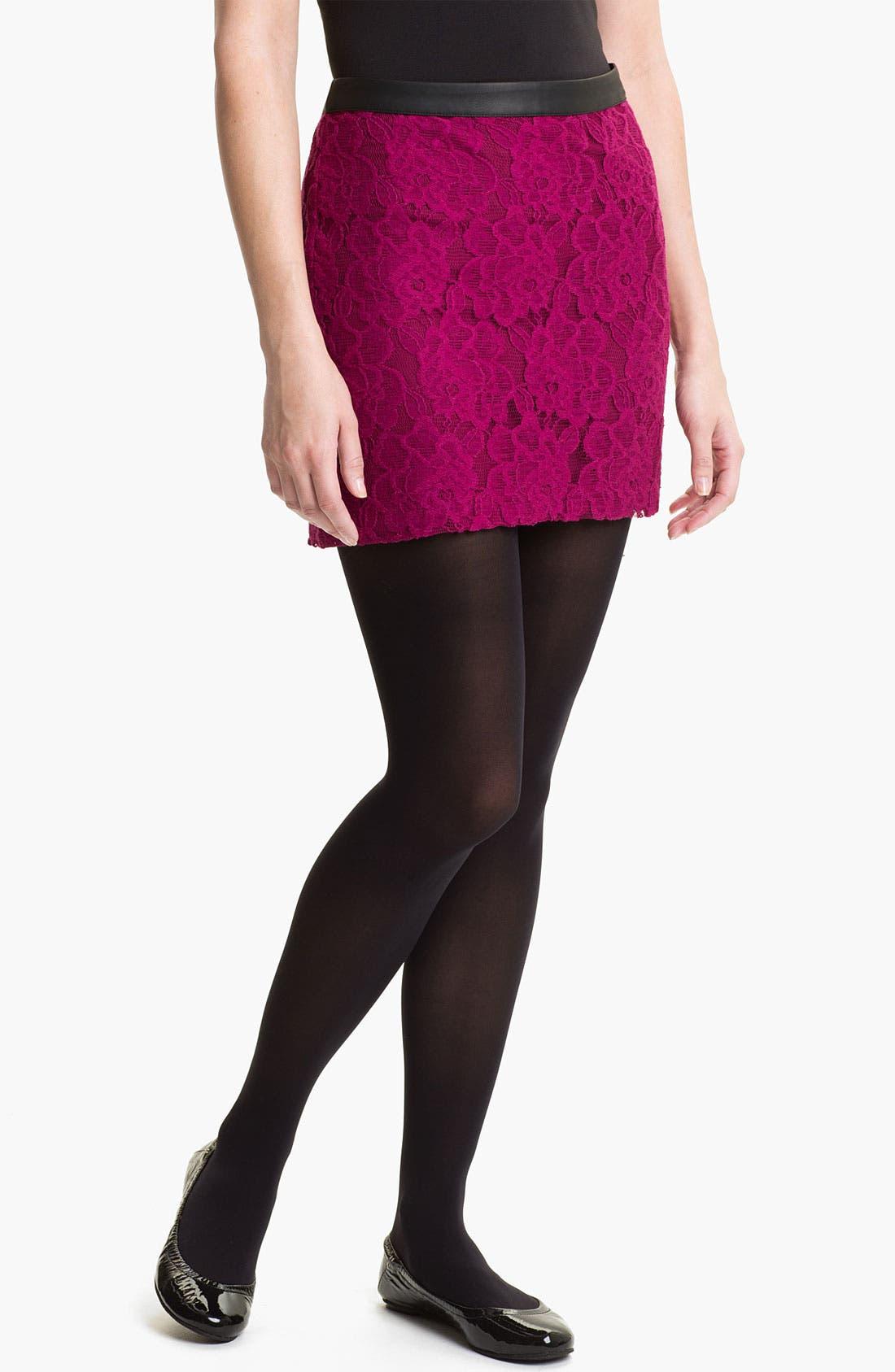 Main Image - Kensie Lace Skirt