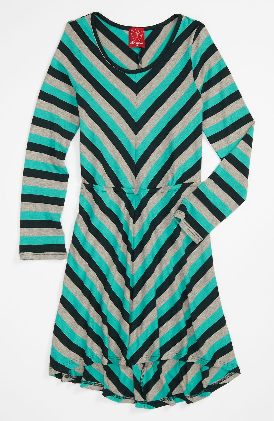 Alternate Image 1 Selected - Ella Moss 'Pippa' Dress (Big Girls)