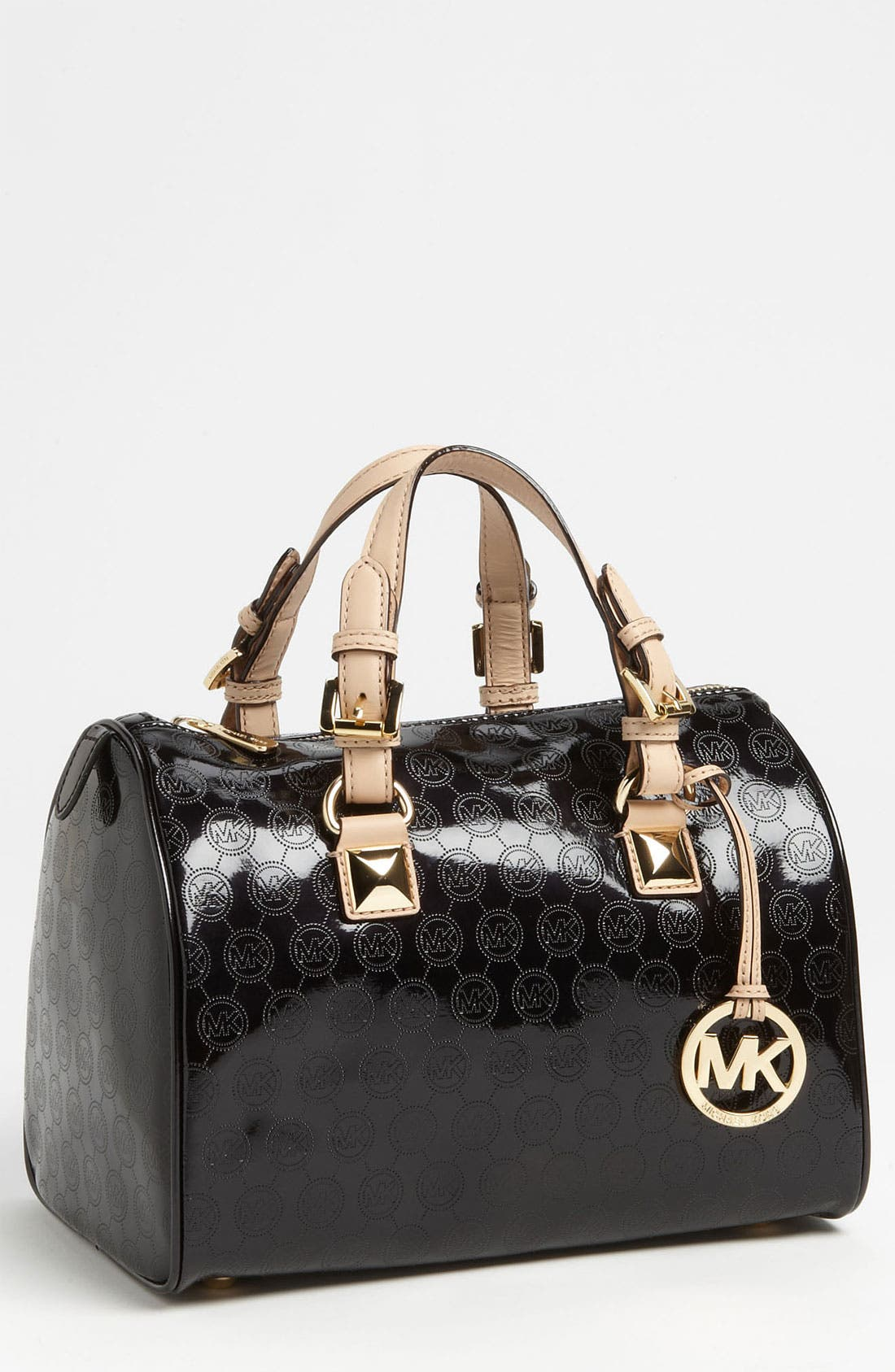 Alternate Image 1 Selected - MICHAEL Michael Kors 'Grayson Logo - Medium' Satchel