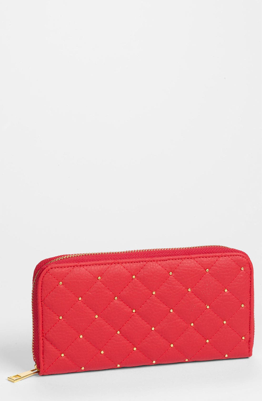 Alternate Image 1 Selected - Top Choice Quilted Zip Wallet