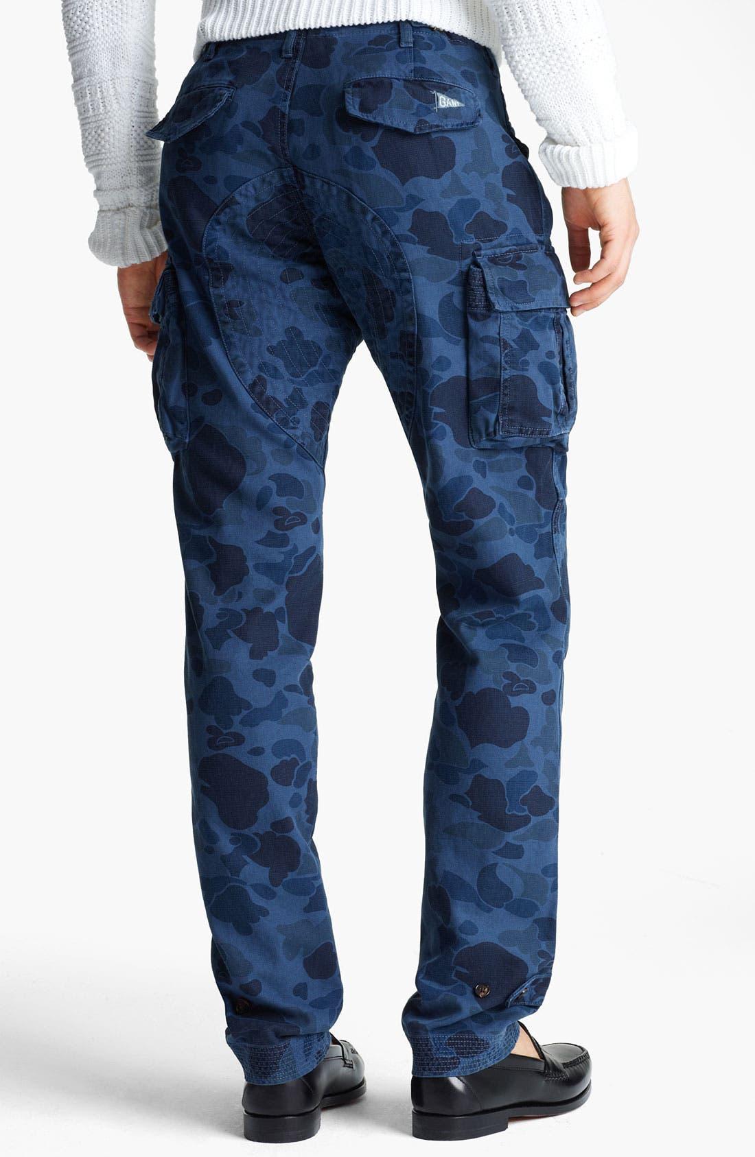 Alternate Image 2  - Gant by Michael Bastian Skinny Camo Cargo Pants
