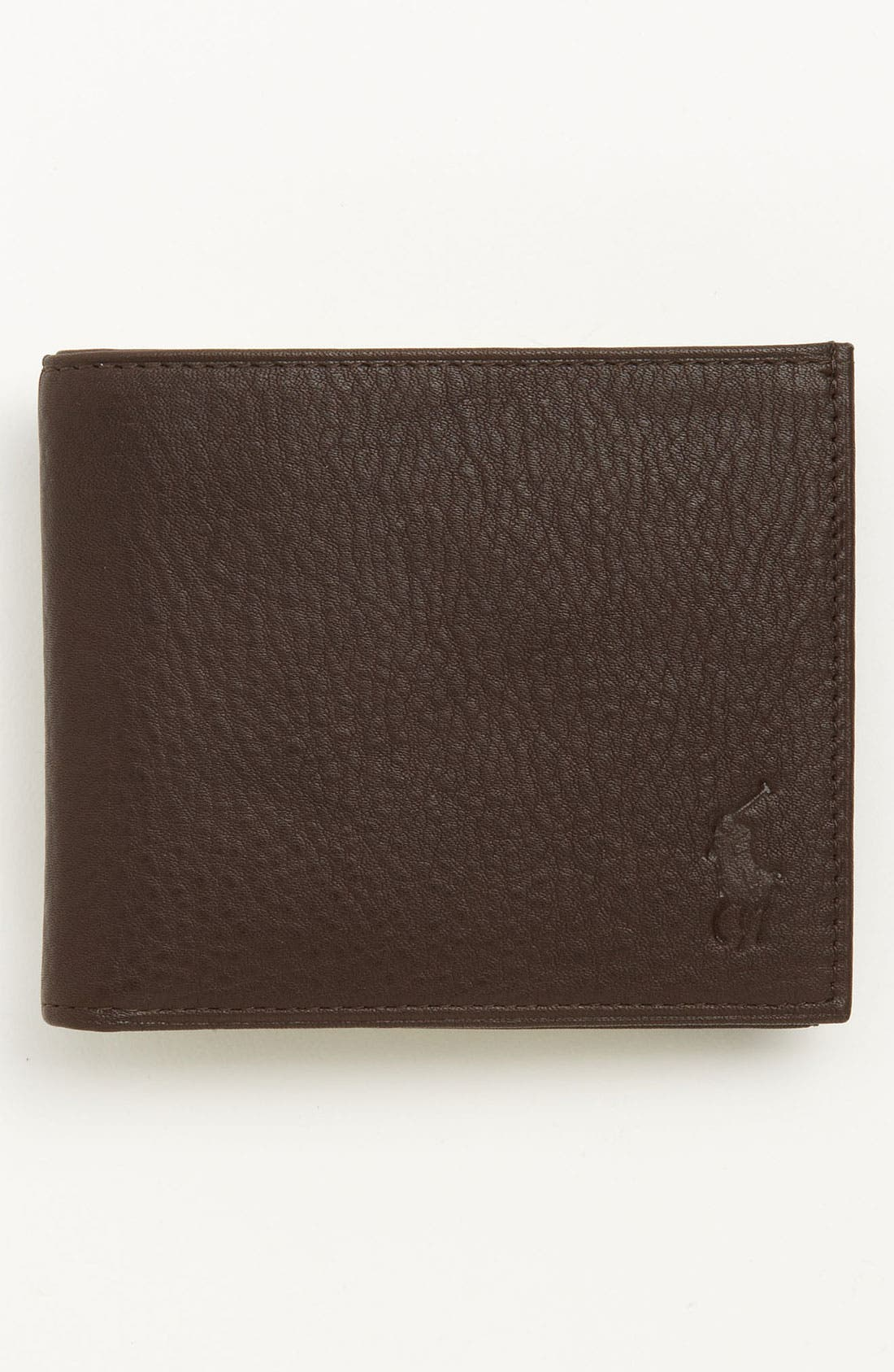 Main Image - Polo Ralph Lauren Bifold Leather Wallet