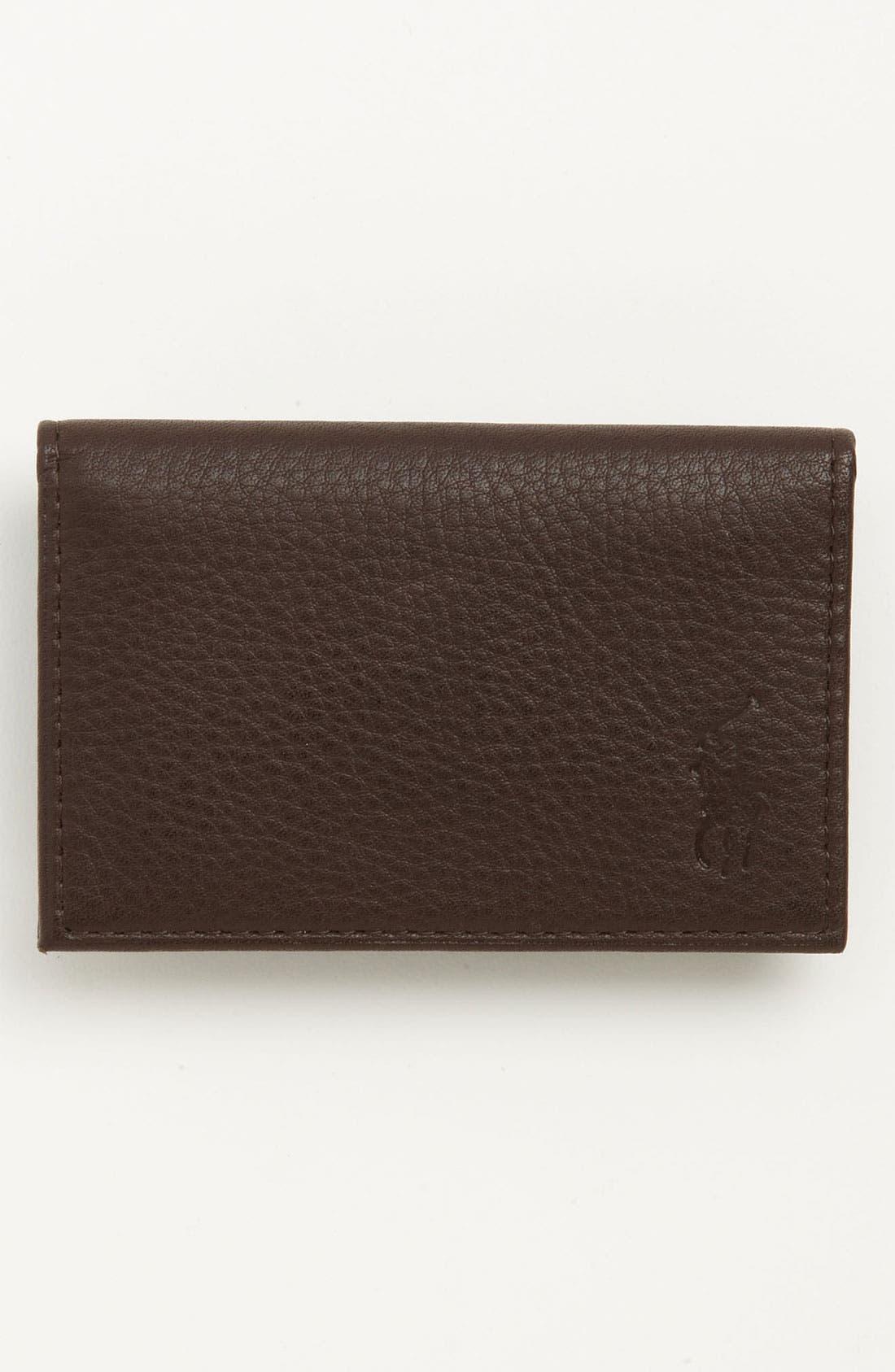 Main Image - Polo Ralph Lauren Slim Card Case
