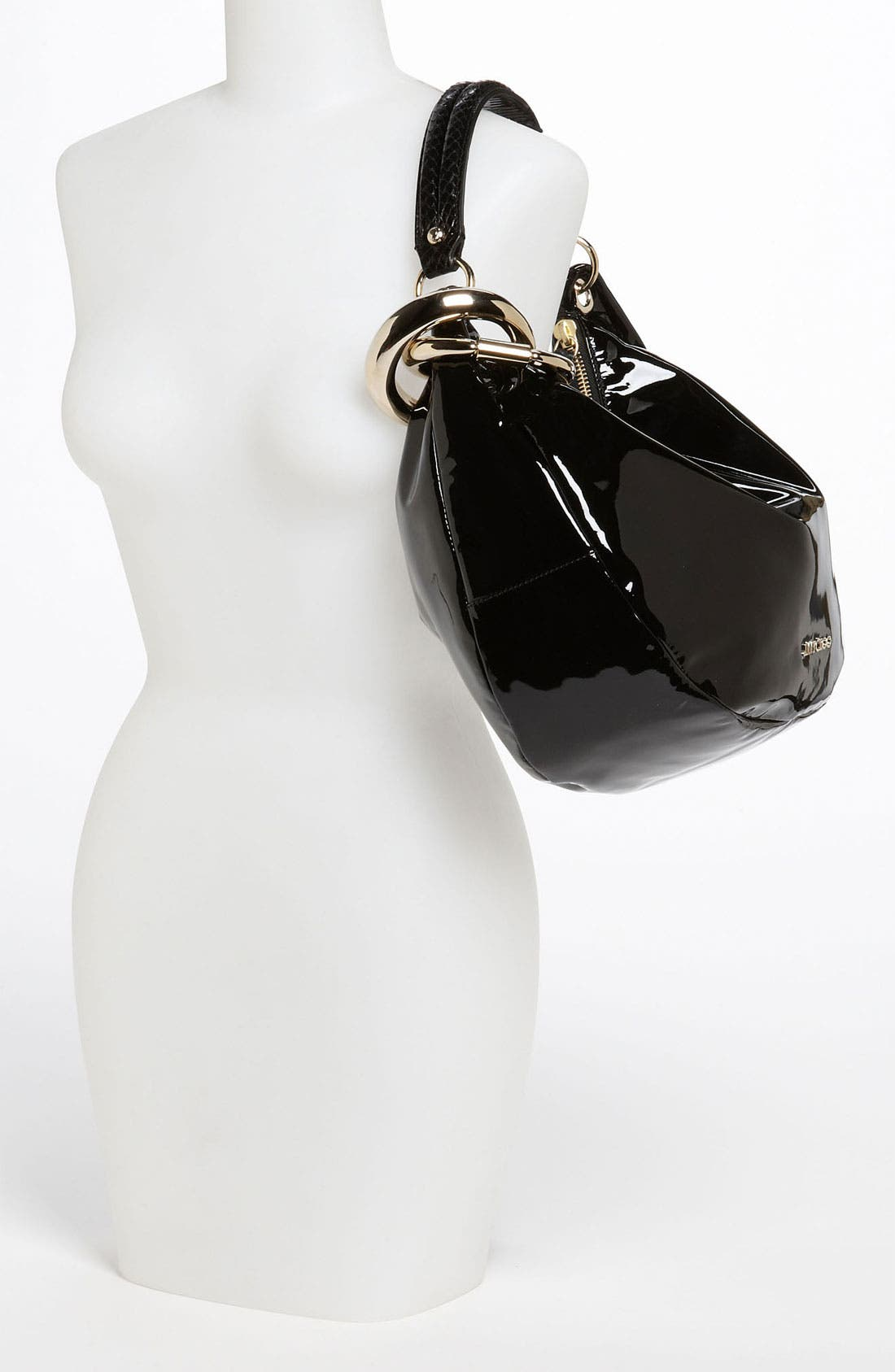 Alternate Image 2  - Jimmy Choo 'Solar - Small' Patent Leather Hobo
