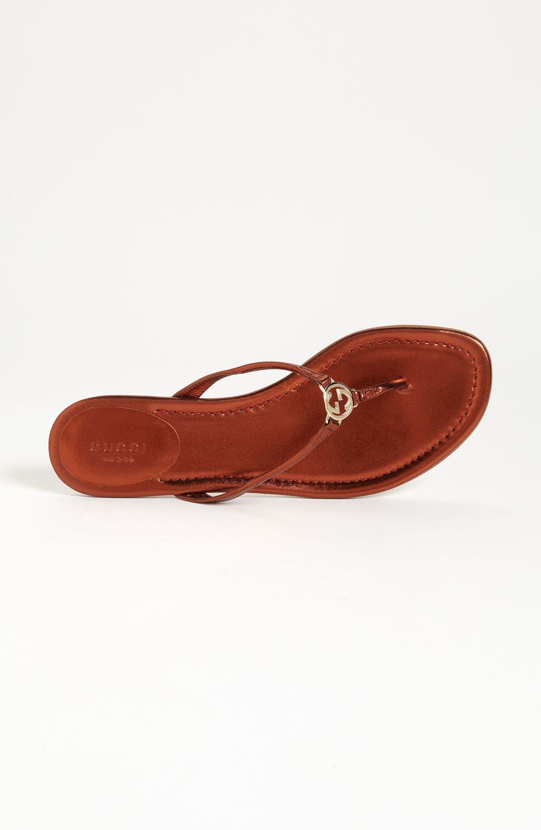 Alternate Image 3  - Gucci 'Elaine' Thong Sandal