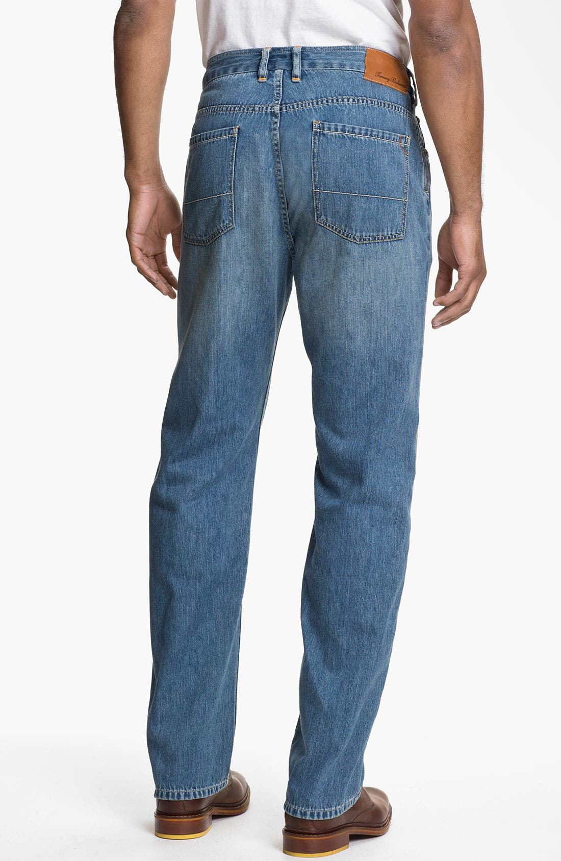 Alternate Image 2  - Tommy Bahama Denim 'Coastal Island Ease' Straight Leg Jeans (Light)